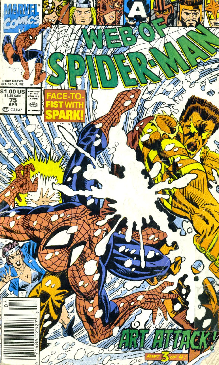 Web of Spider-Man (1985) 75 Page 1