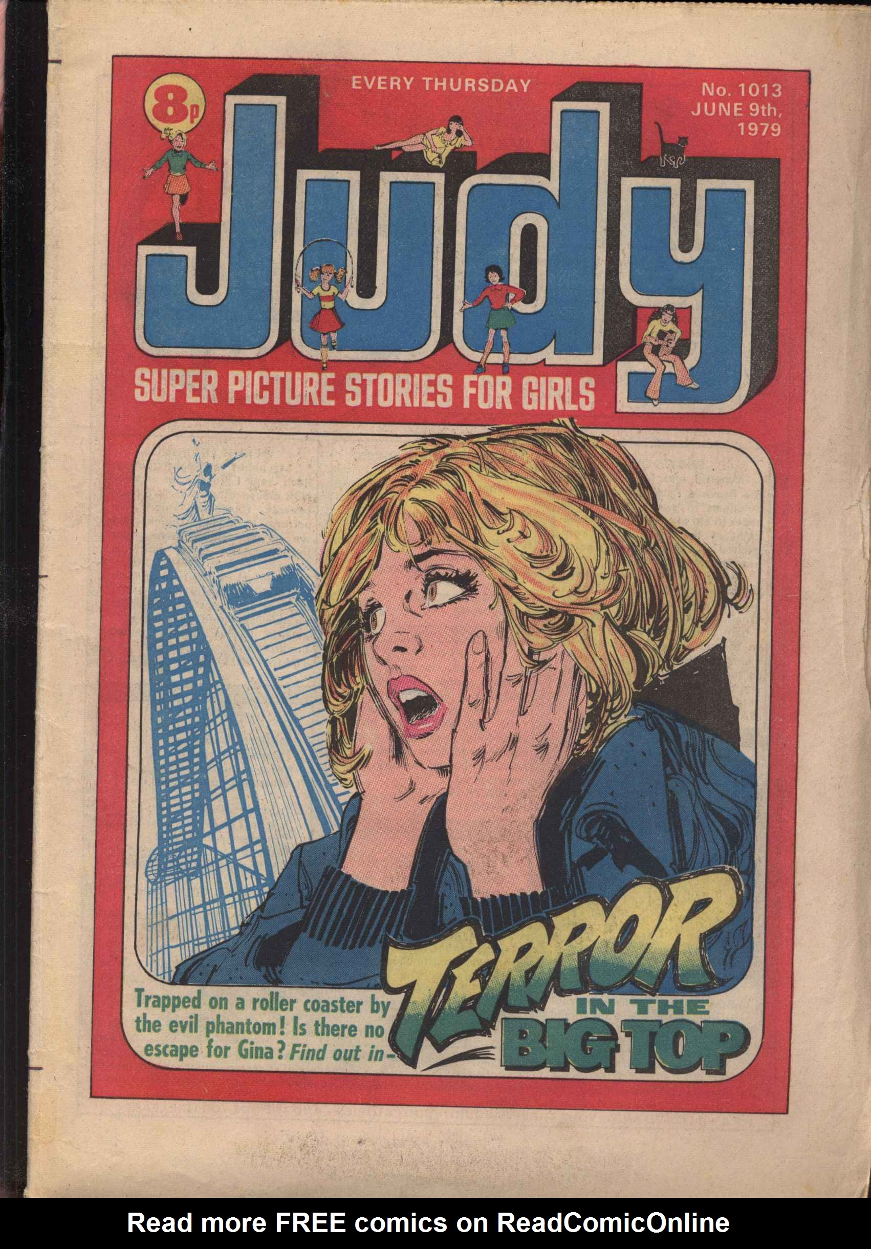 Read online Judy comic -  Issue #13 - 1