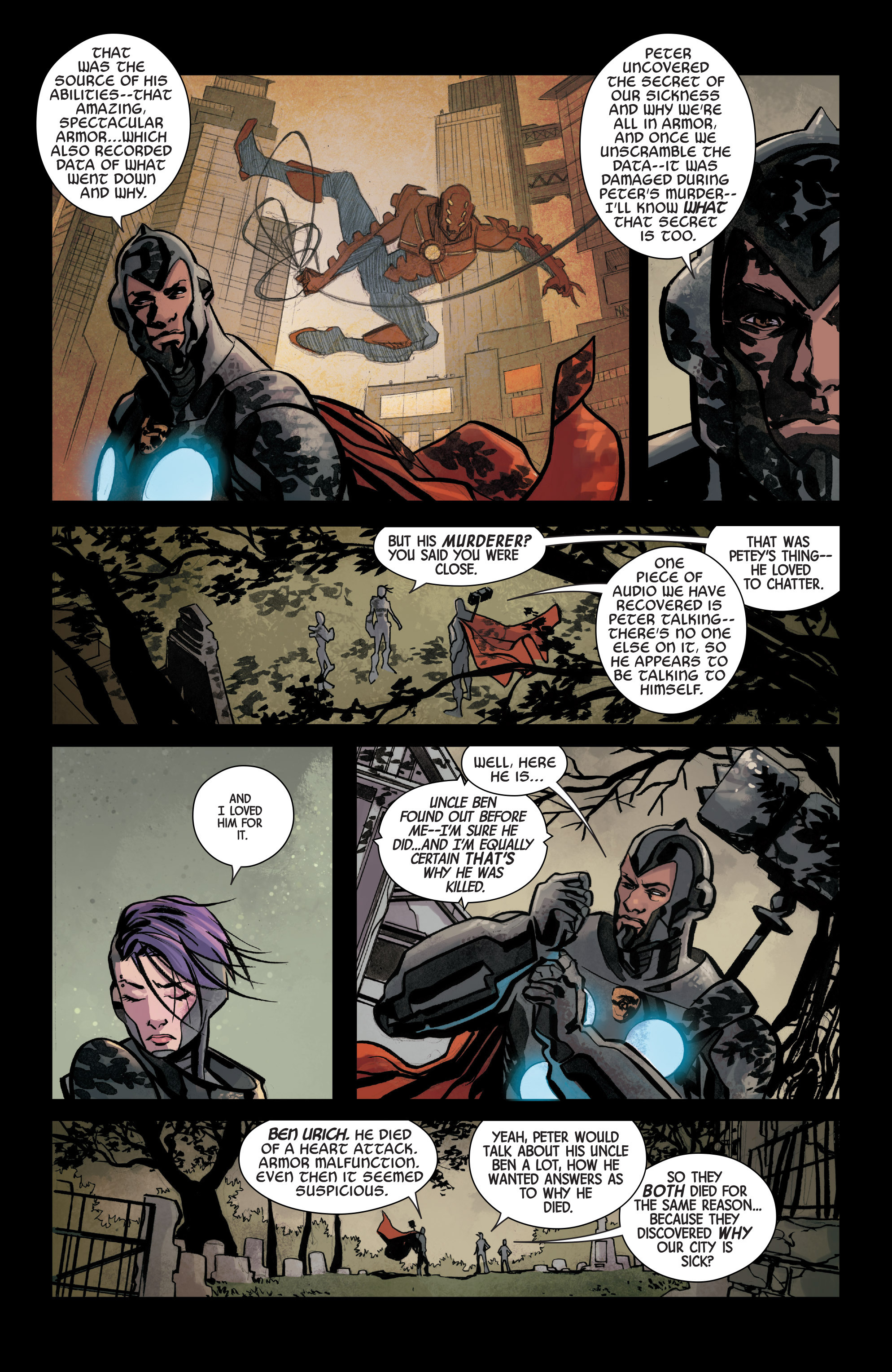 Read online Armor Wars comic -  Issue #3 - 9
