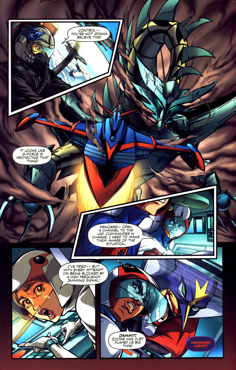 Battle of the Planets Issue #12 #14 - English 6
