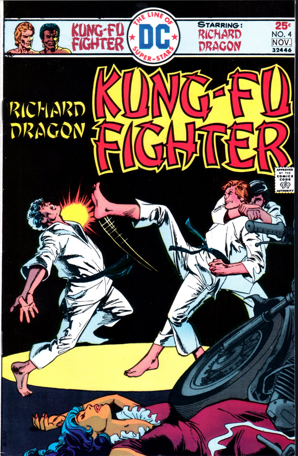Richard Dragon, Kung-Fu Fighter 4 Page 1