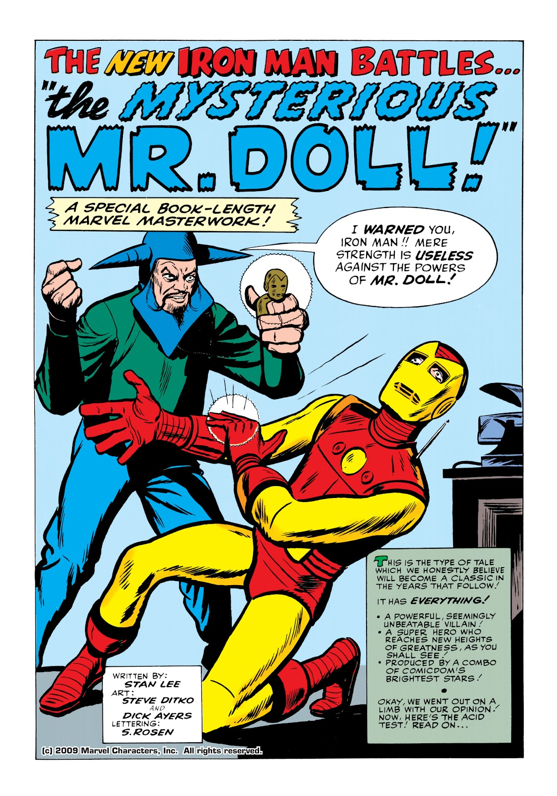 Read online Marvel Masterworks: The Invincible Iron Man comic -  Issue # TPB 1 (Part 2) - 40