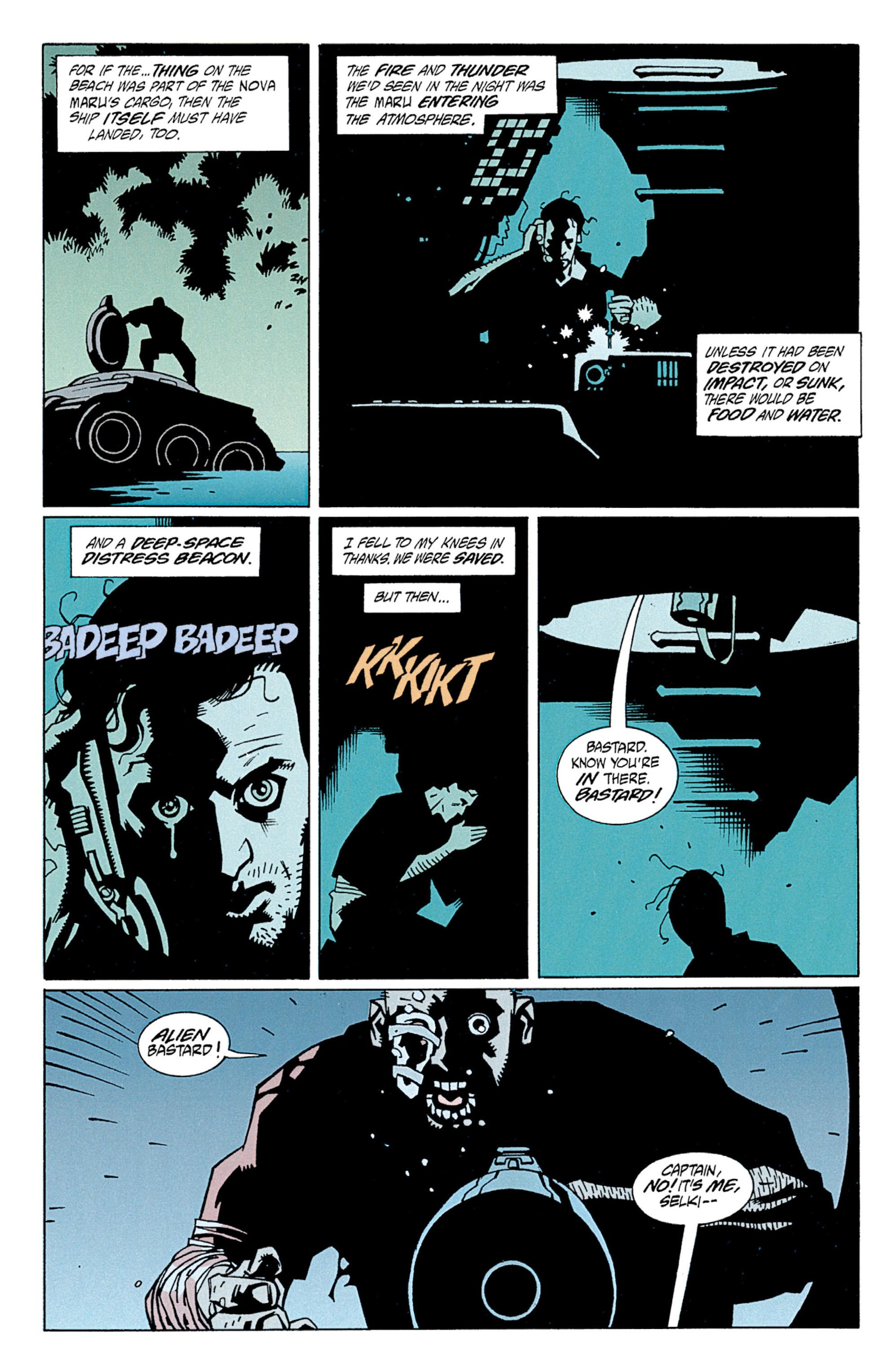 Read online Aliens: Salvation comic -  Issue # TPB - 19