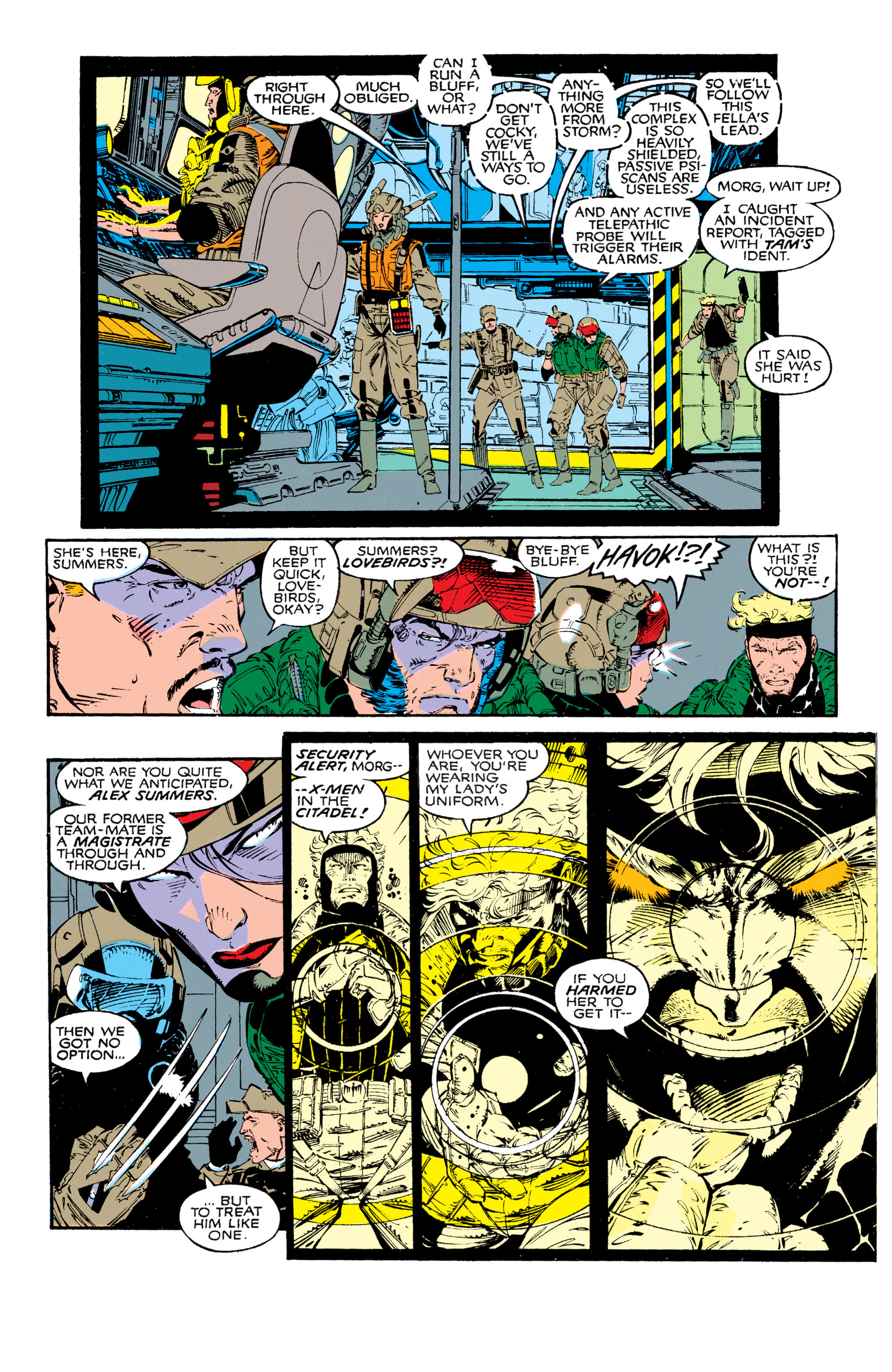 Read online Uncanny X-Men (1963) comic -  Issue #271 - 17