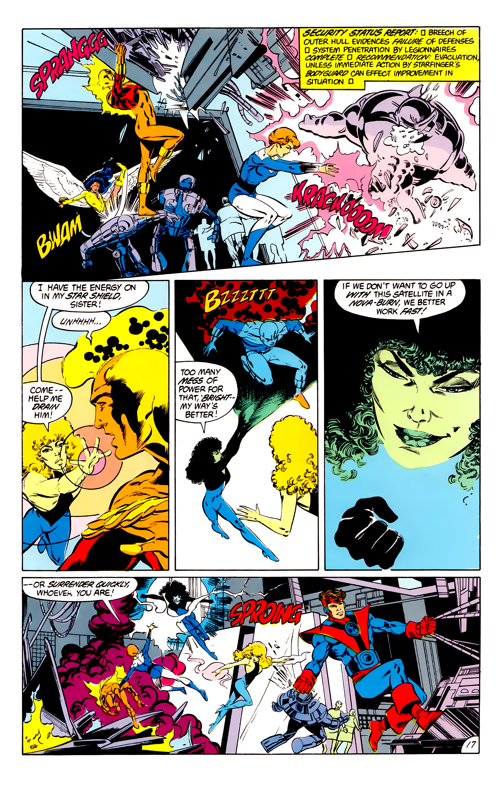 Legion of Super-Heroes (1984) 41 Page 17