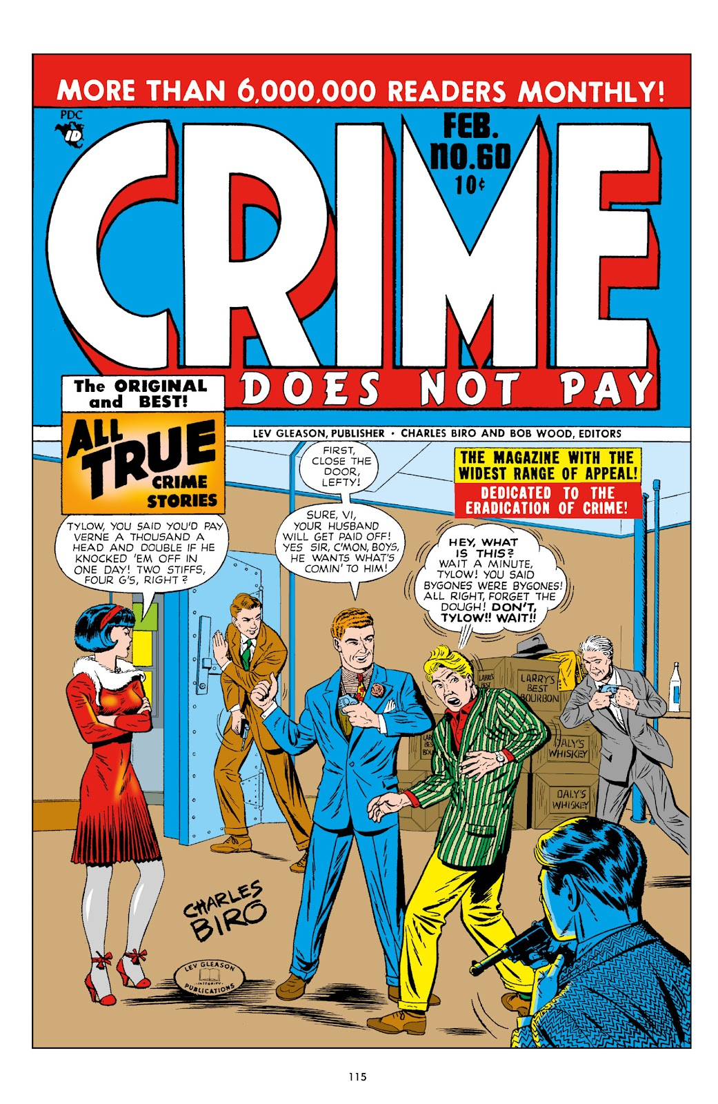 Read online Crime Does Not Pay Archives comic -  Issue # TPB 10 (Part 2) - 16