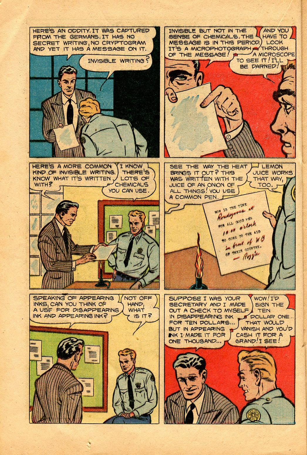 Read online Shadow Comics comic -  Issue #94 - 26