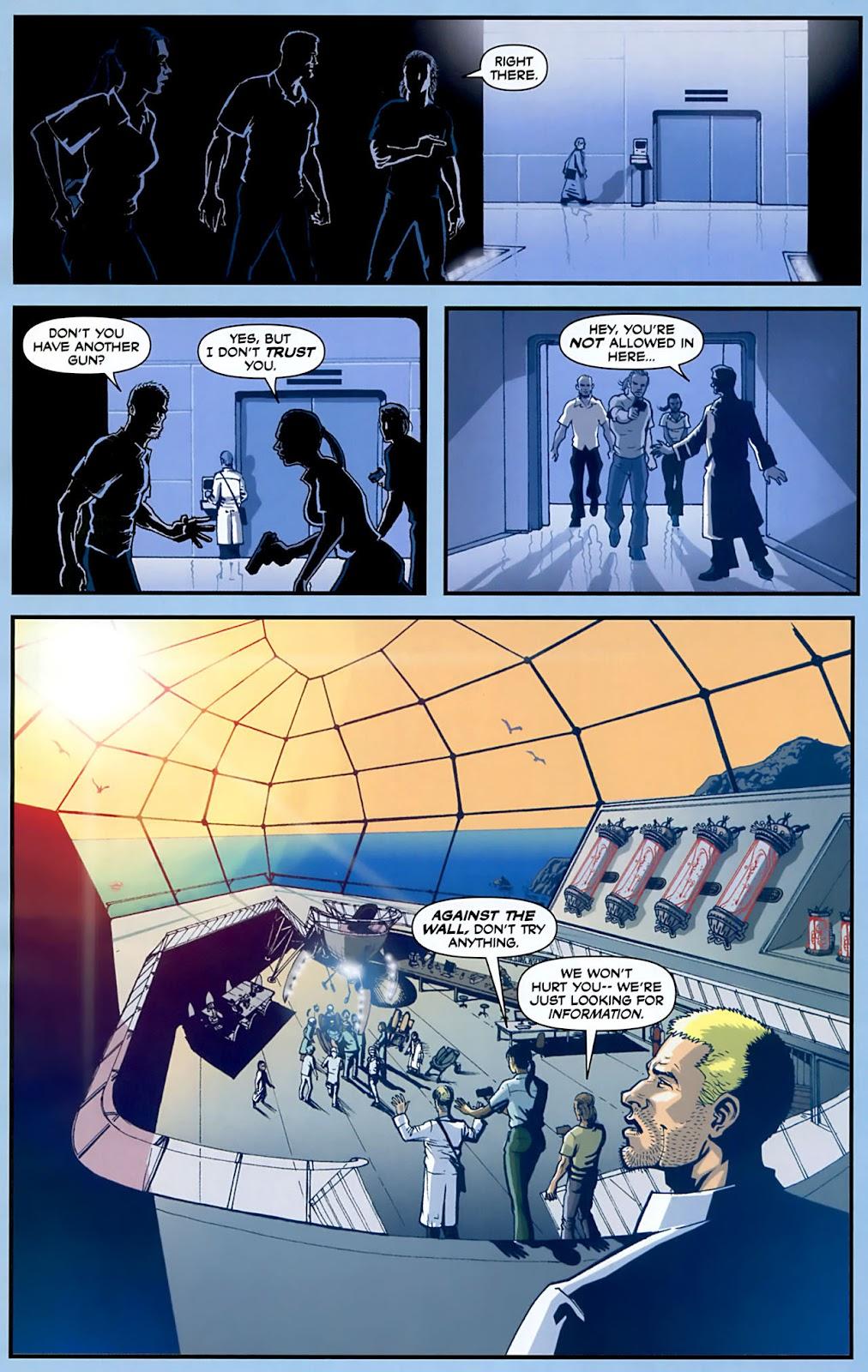 Read online Lazarus (2007) comic -  Issue #3 - 6