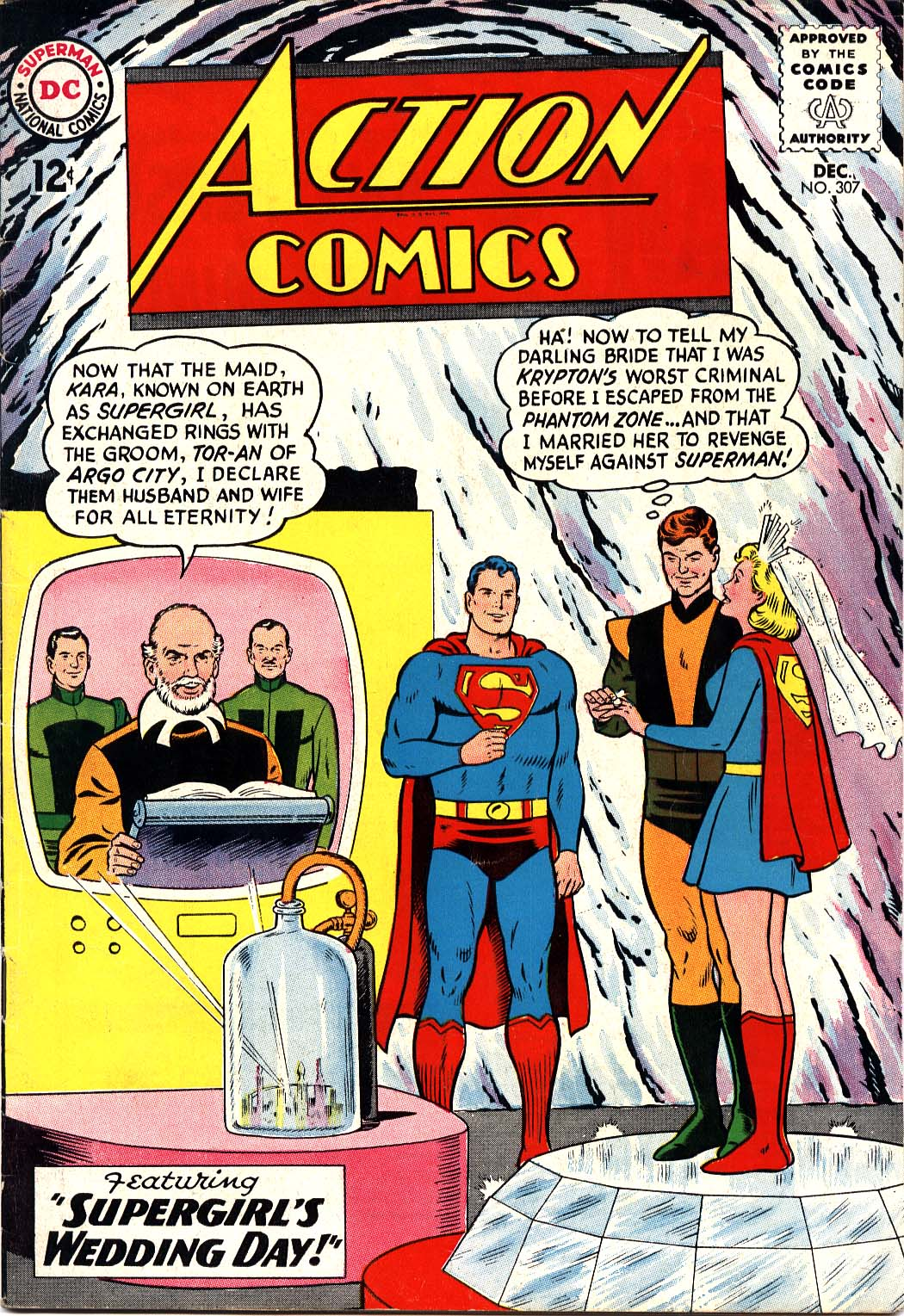 Read online Action Comics (1938) comic -  Issue #307 - 1