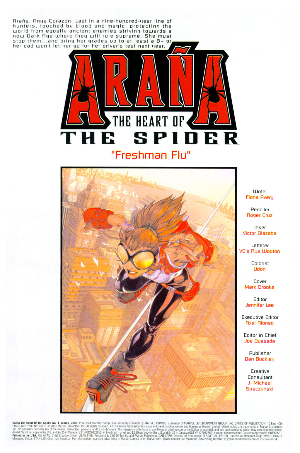 Read online Araña: Heart of the Spider comic -  Issue #1 - 2