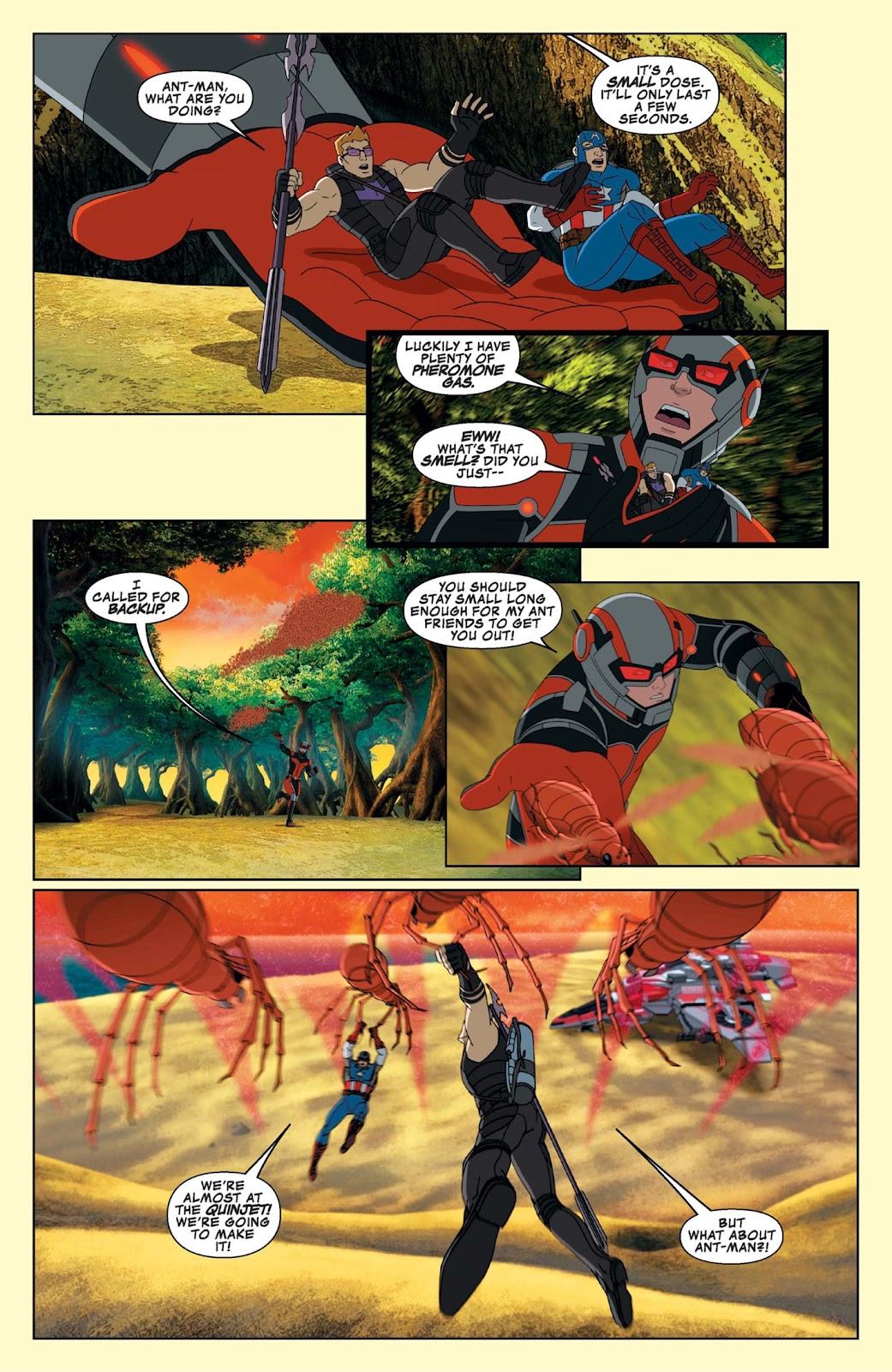 Read online Marvel Universe Avengers Assemble Season 2 comic -  Issue #9 - 27