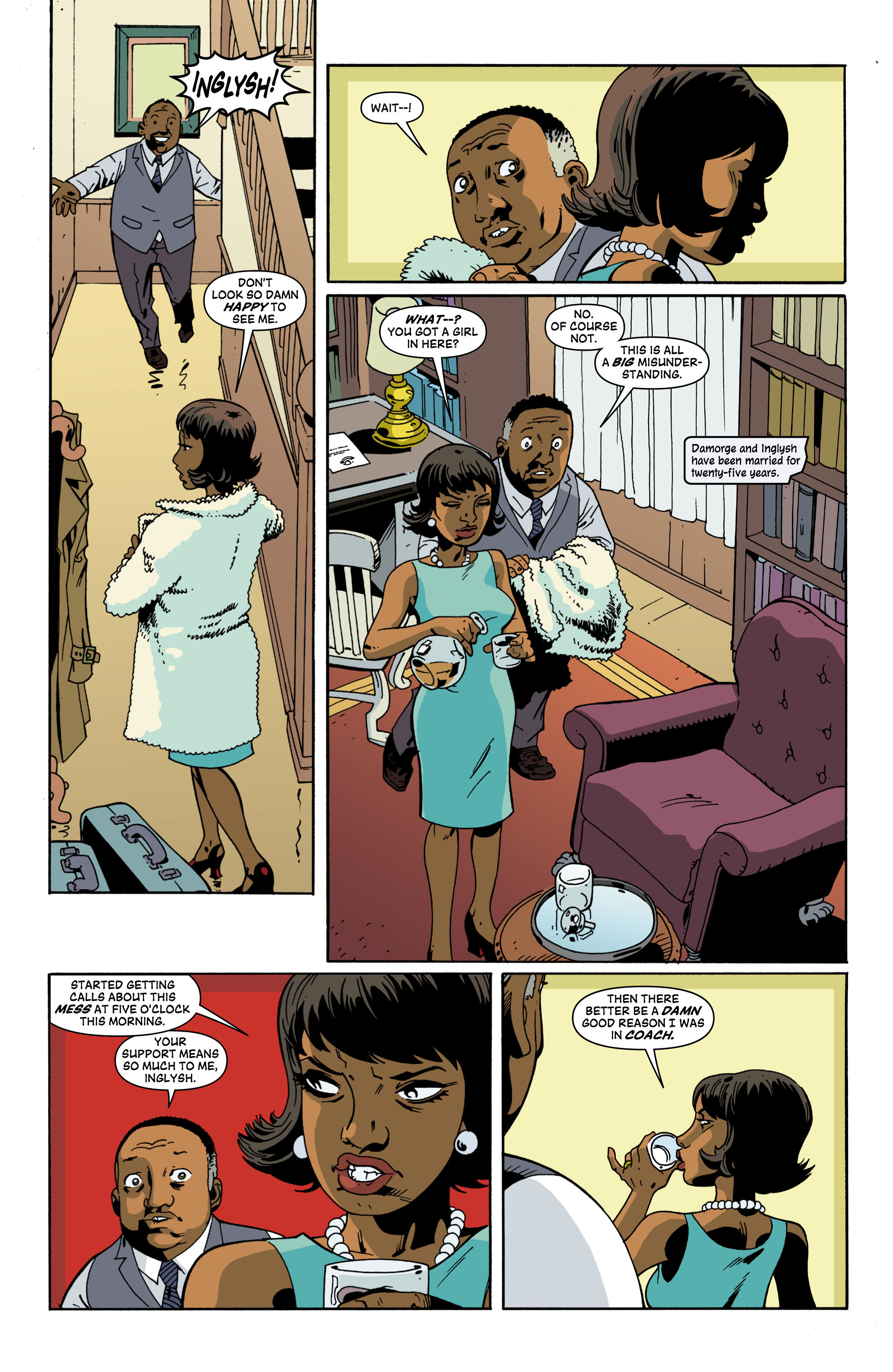 Read online Red Herring comic -  Issue #2 - 5
