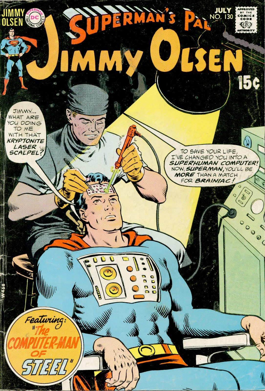 Supermans Pal Jimmy Olsen (1954) 130 Page 1