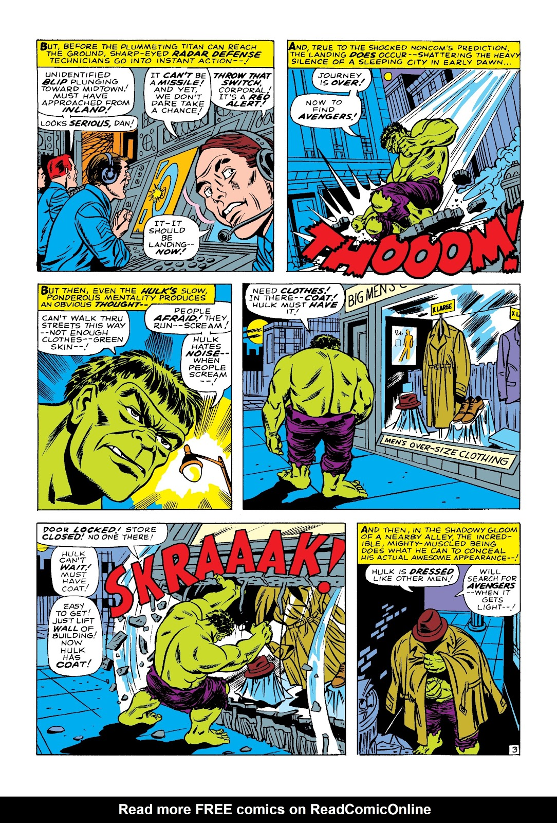Read online Marvel Masterworks: The Incredible Hulk comic -  Issue # TPB 3 (Part 1) - 54