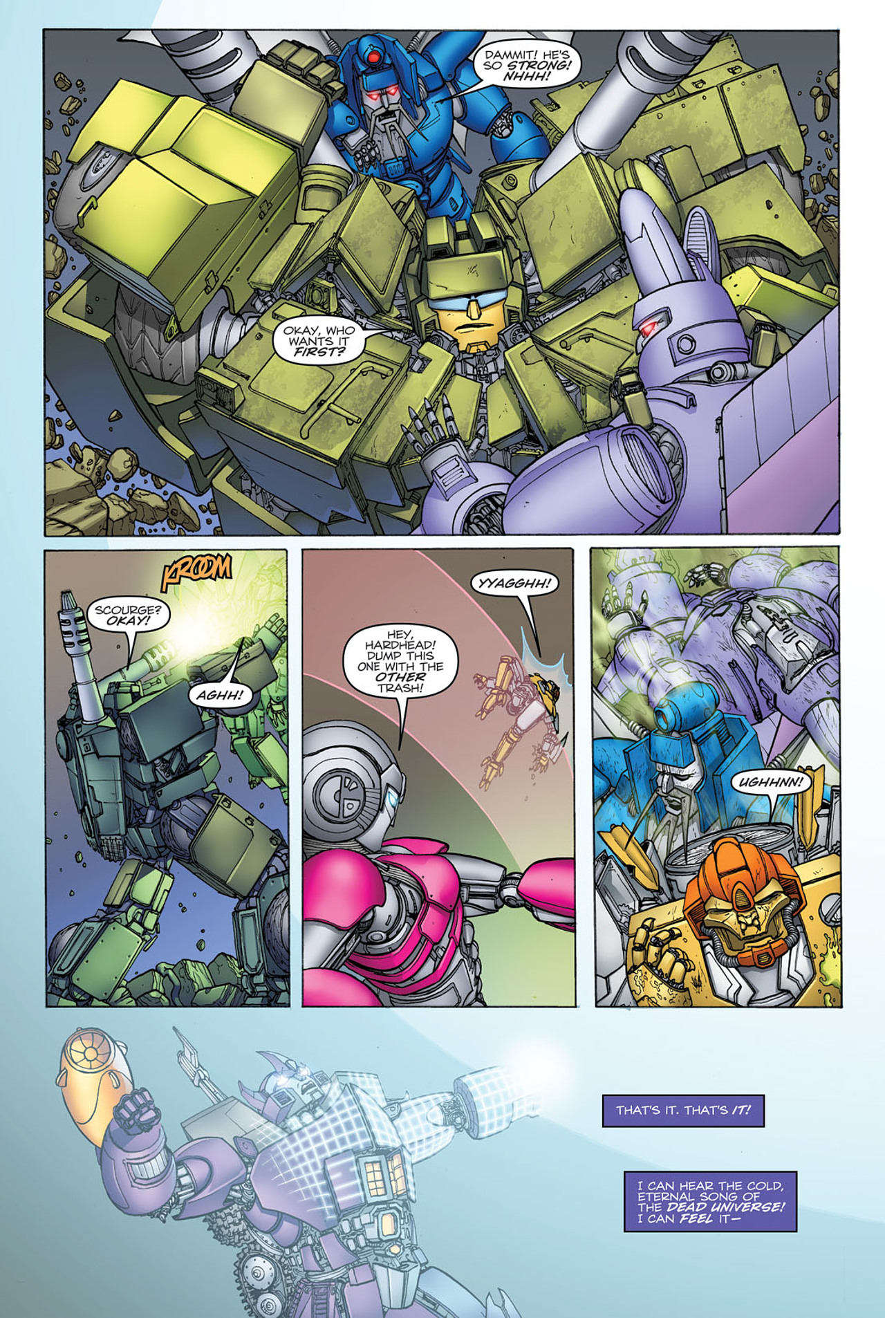 Read online Transformers: Heart of Darkness comic -  Issue #2 - 8