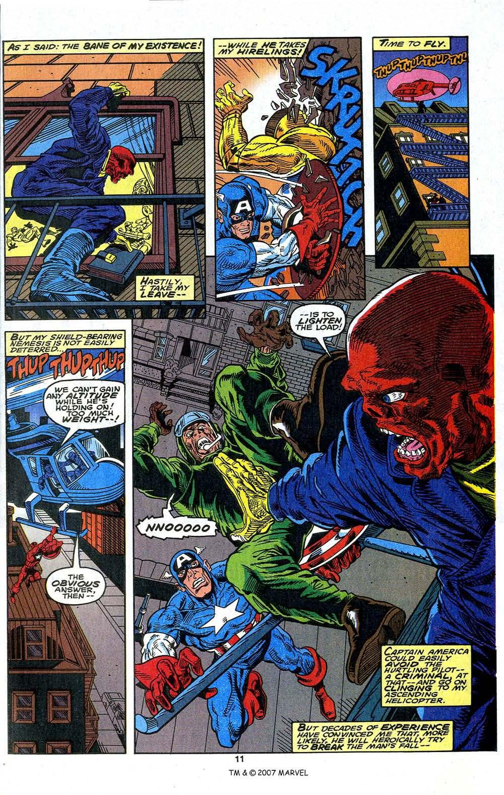 Read online Captain America (1968) comic -  Issue # _Annual 13 - 13