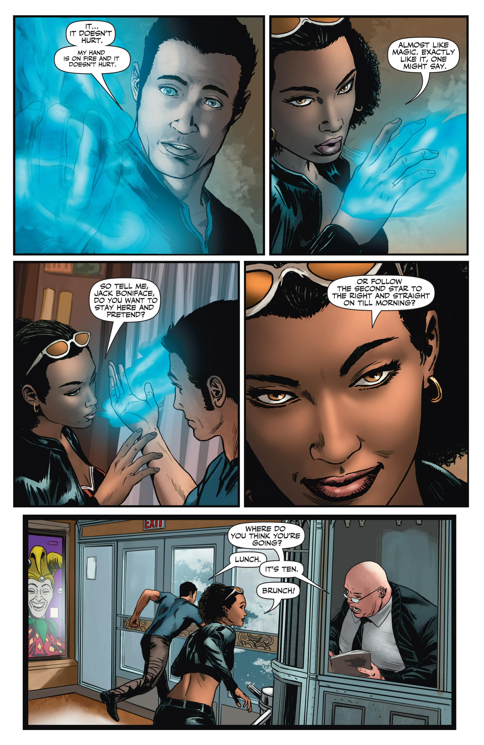 Read online Shadowman (2012) comic -  Issue #2 - 21