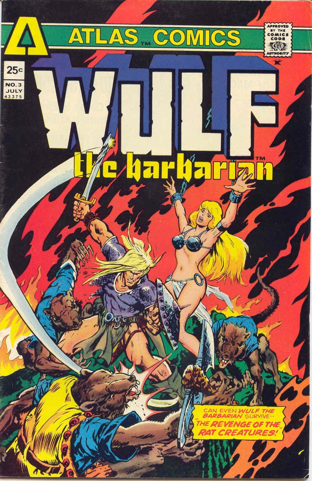 Wulf the Barbarian 3 Page 1
