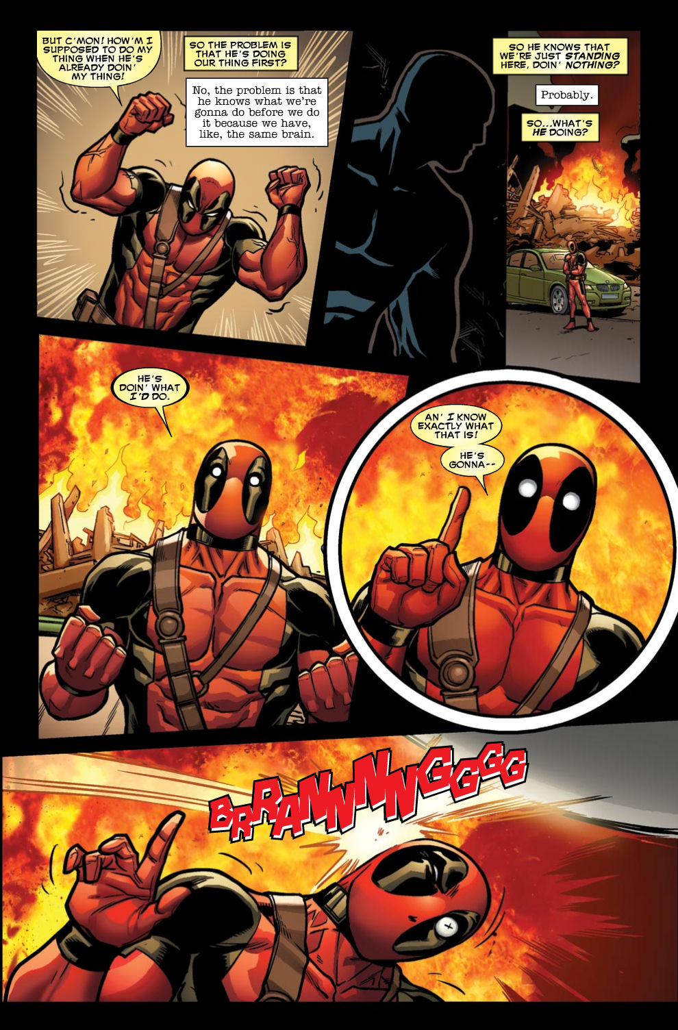 Read online Deadpool (2008) comic -  Issue #46 - 20