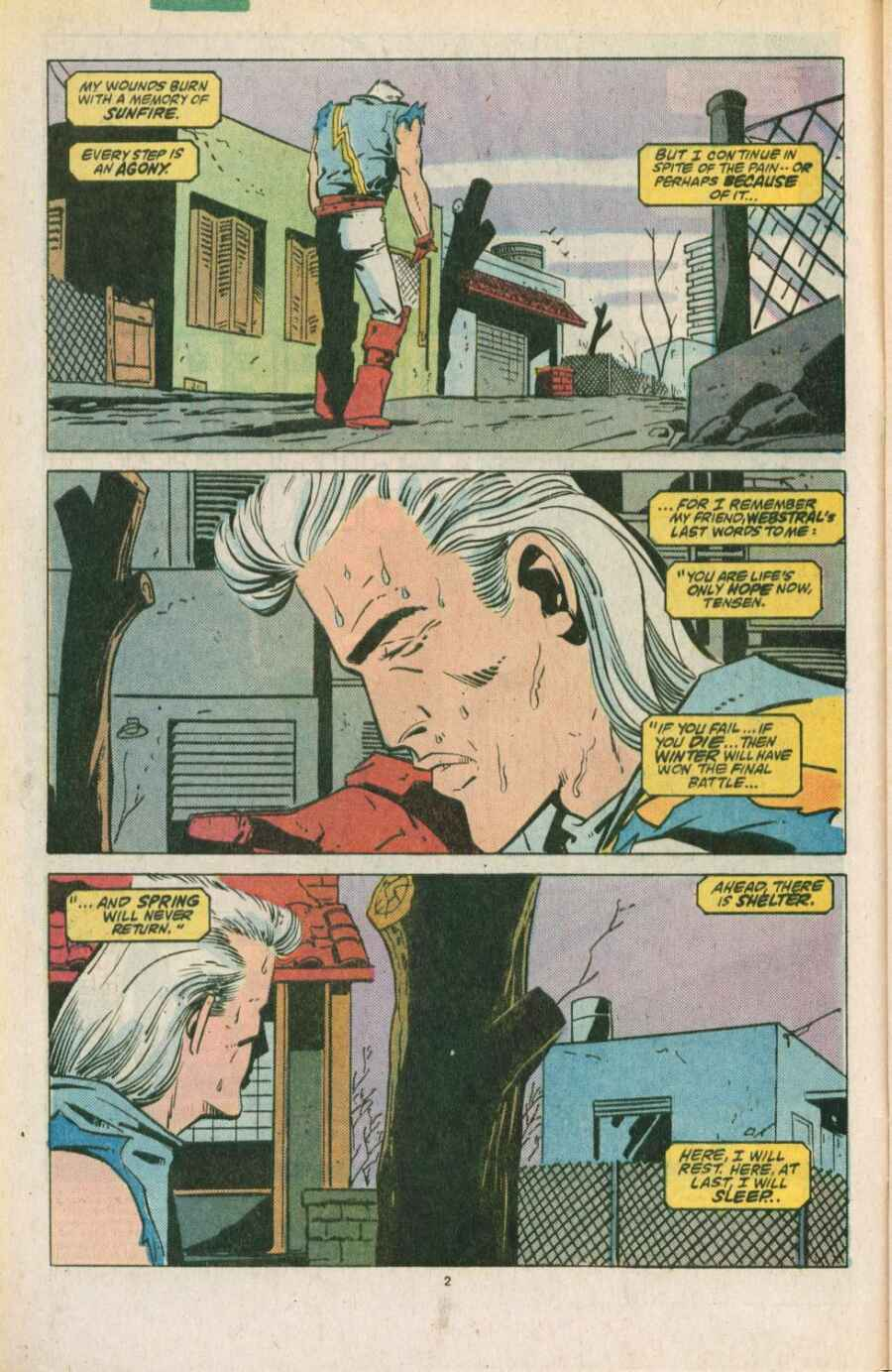 Read online Justice (1986) comic -  Issue #11 - 3