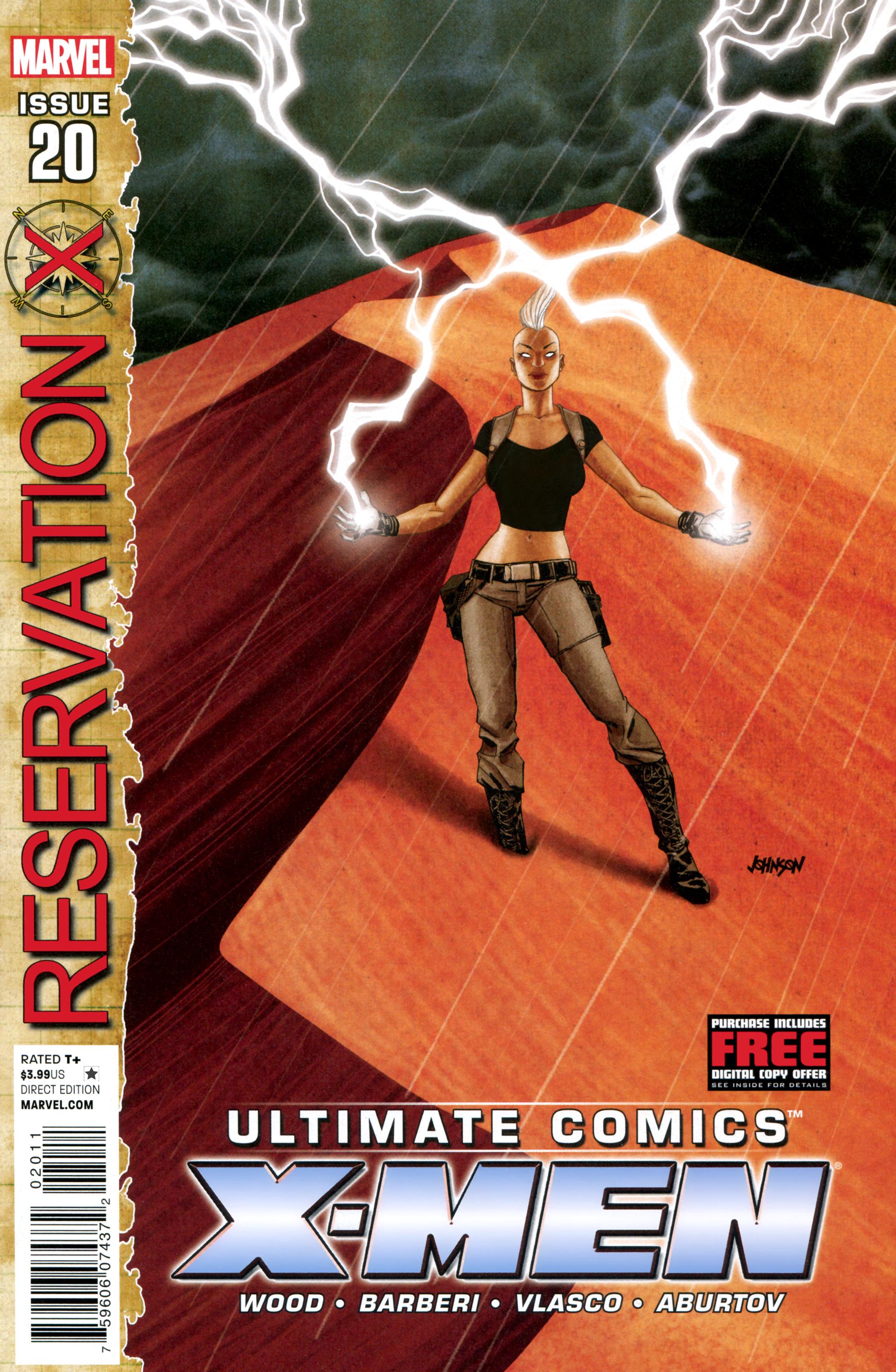 Read online Ultimate Comics X-Men comic -  Issue #20 - 1