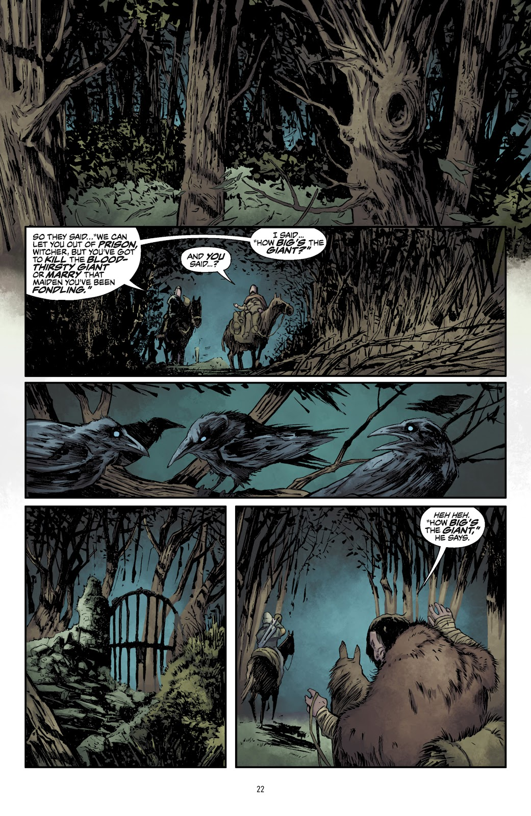 Read online The Witcher Omnibus comic -  Issue # TPB (Part 1) - 23