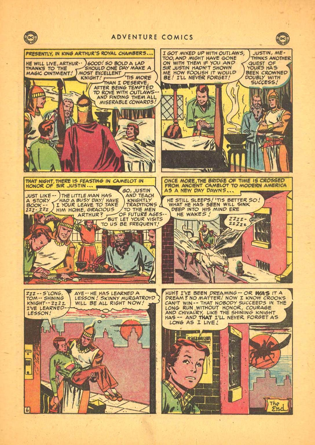 Read online Adventure Comics (1938) comic -  Issue #148 - 37