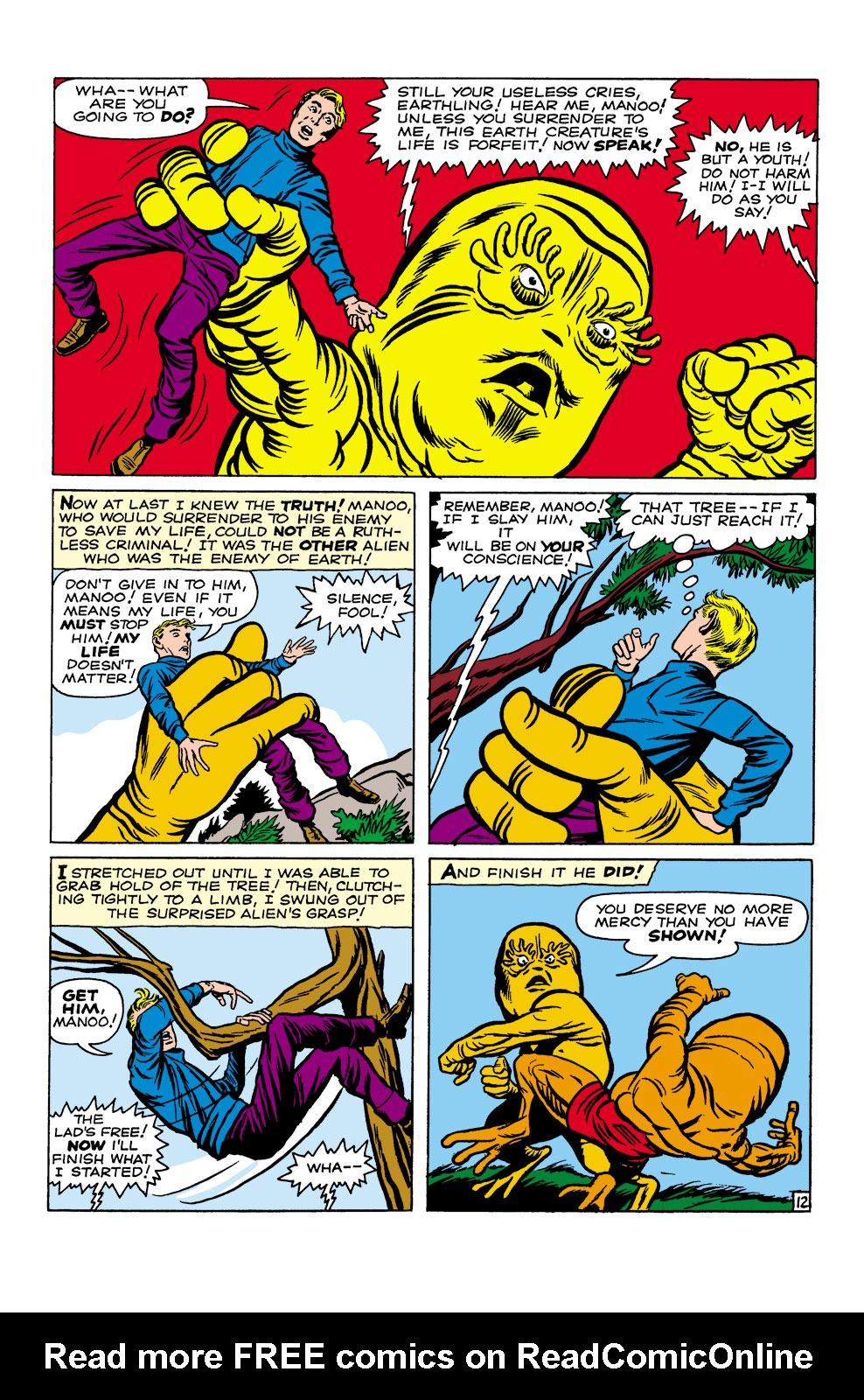 Read online Amazing Adventures (1961) comic -  Issue #2 - 14