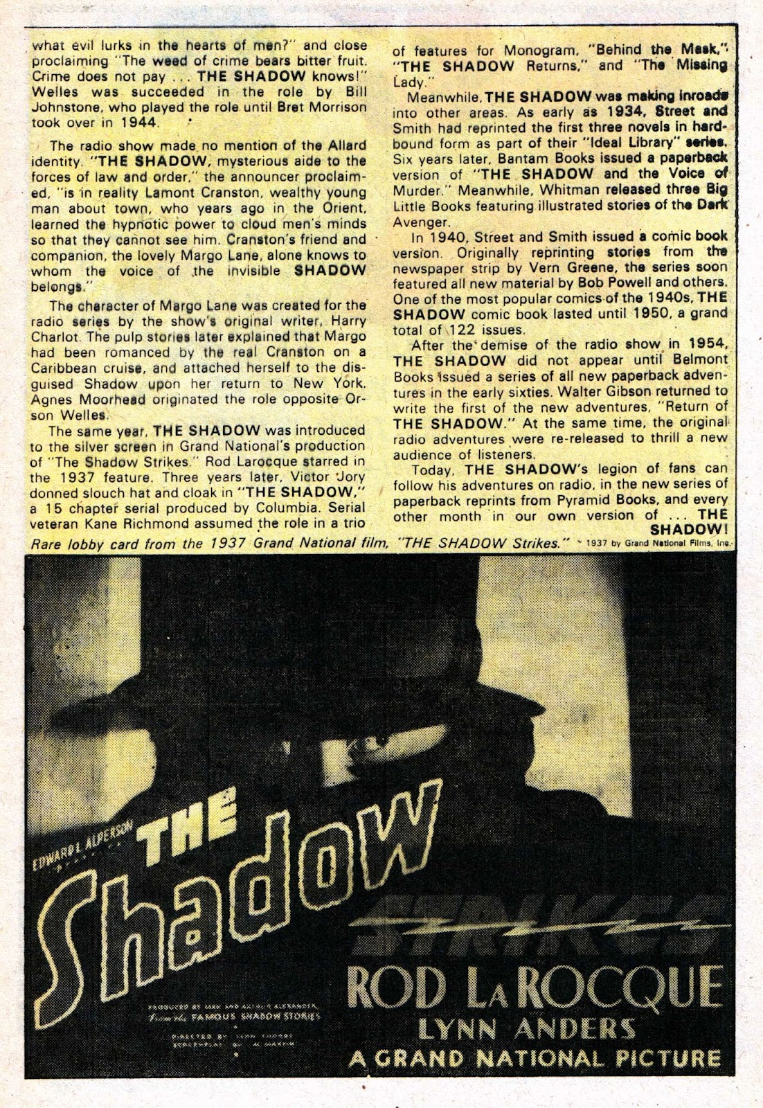 The Shadow (1973) issue 9 - Page 32