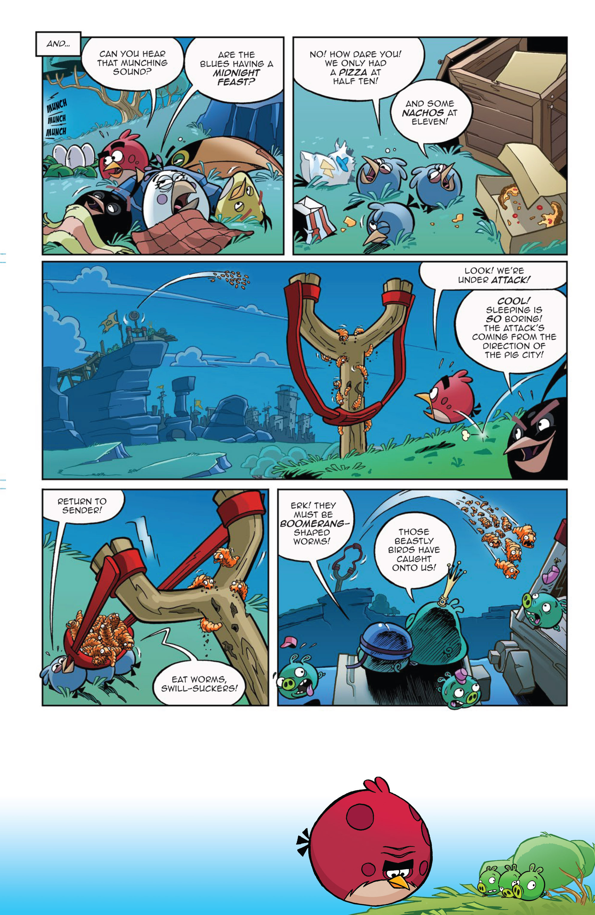 Read online Angry Birds Comics (2014) comic -  Issue #9 - 19