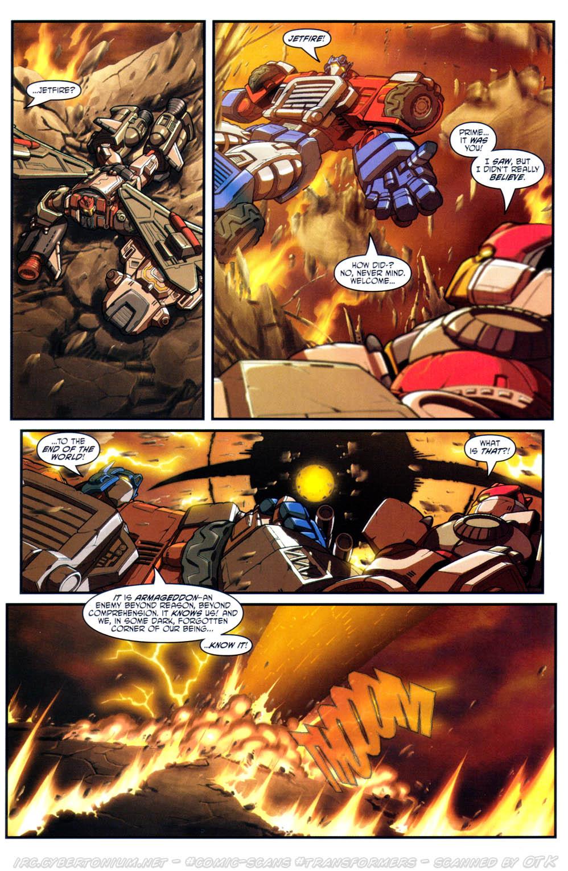 Read online Transformers Armada comic -  Issue #17 - 18