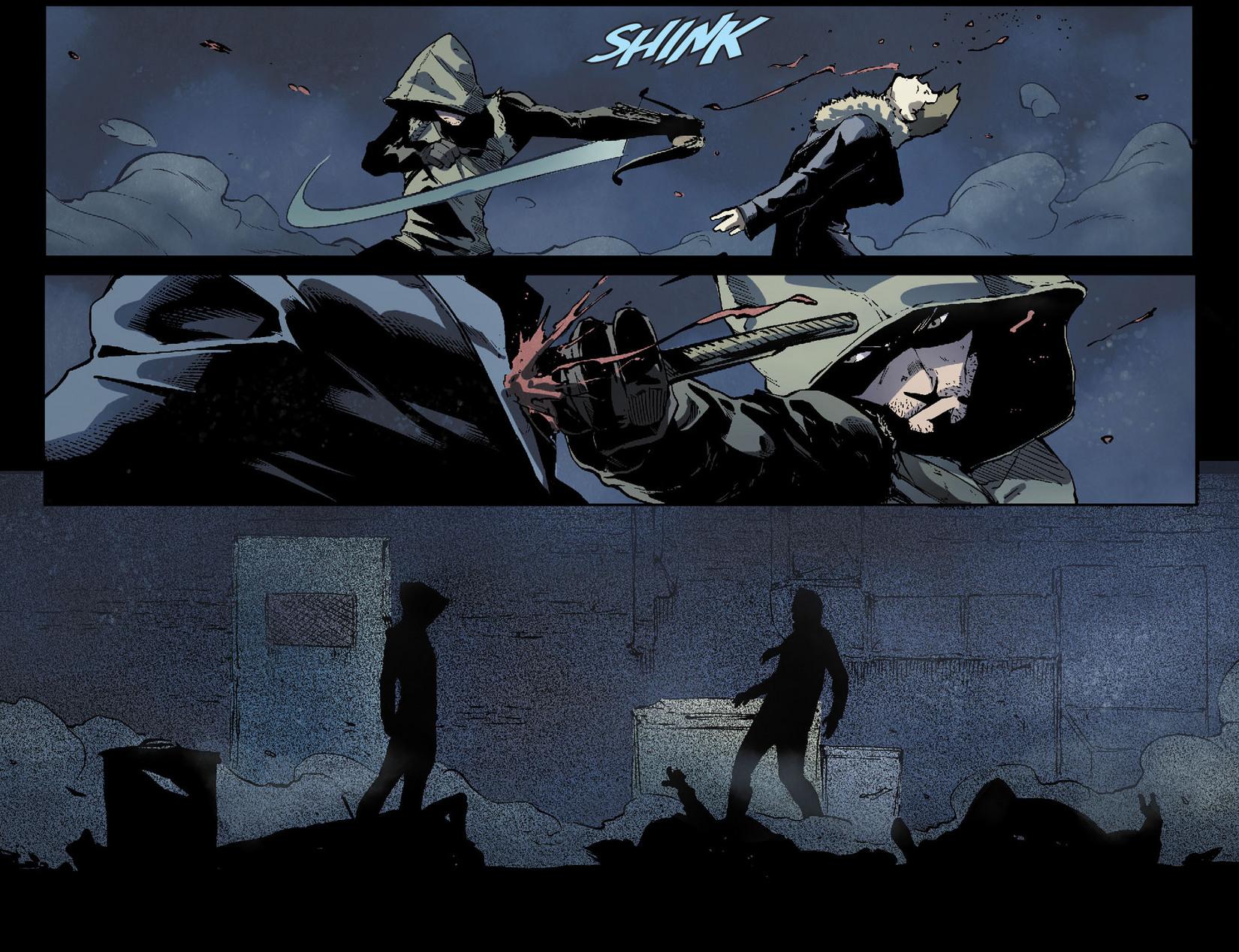Read online Arrow [II] comic -  Issue #7 - 18