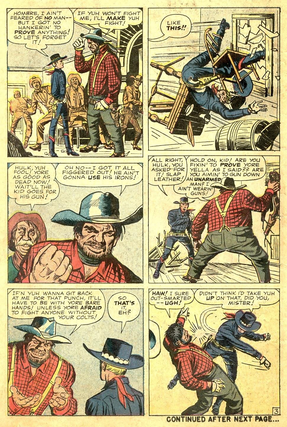 Gunsmoke Western issue 63 - Page 14
