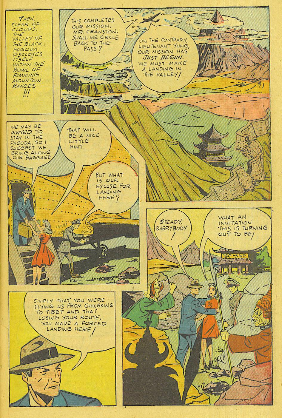 Read online Shadow Comics comic -  Issue #71 - 46