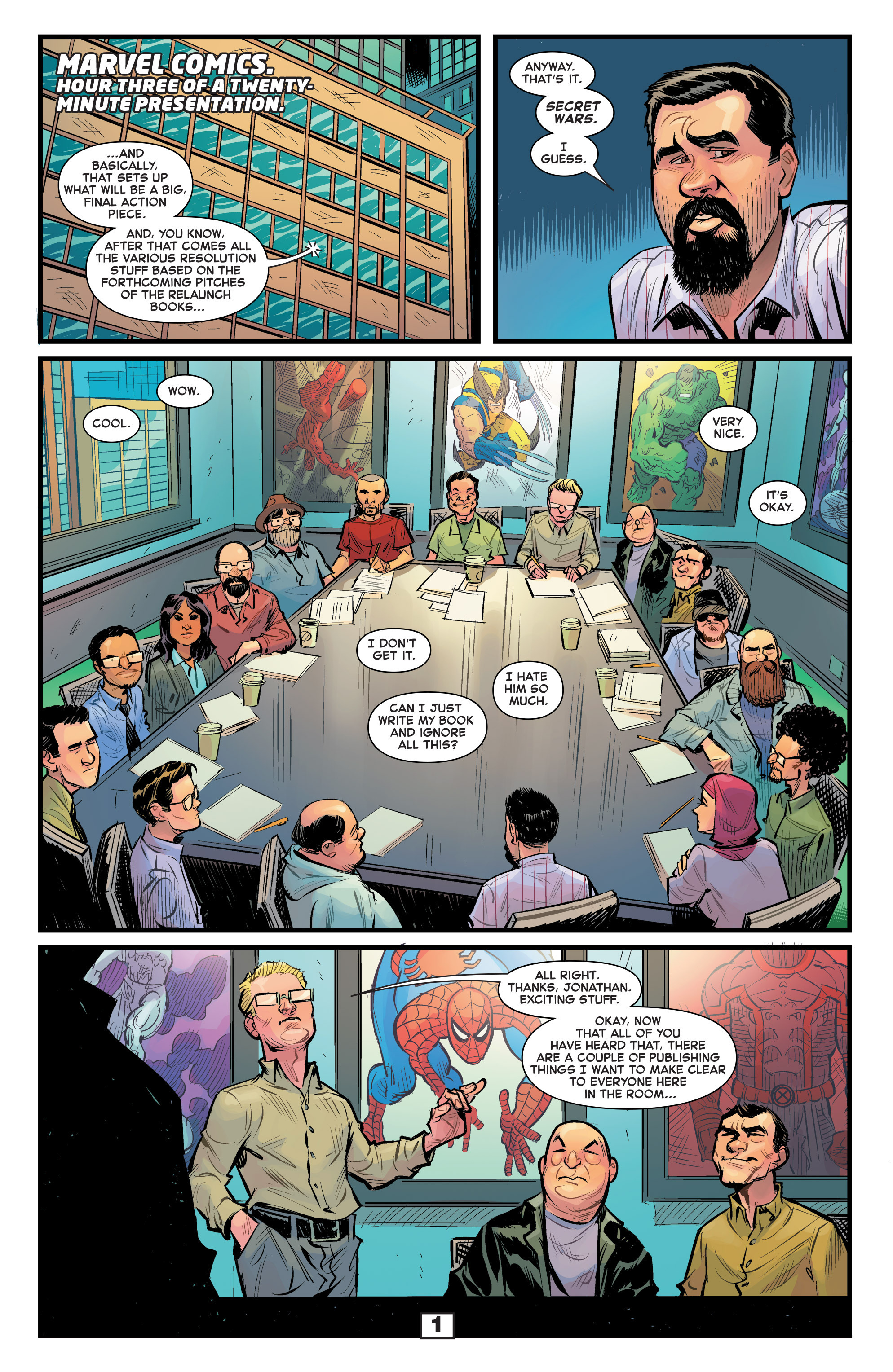 Read online Secret Wars Too comic -  Issue # Full - 3