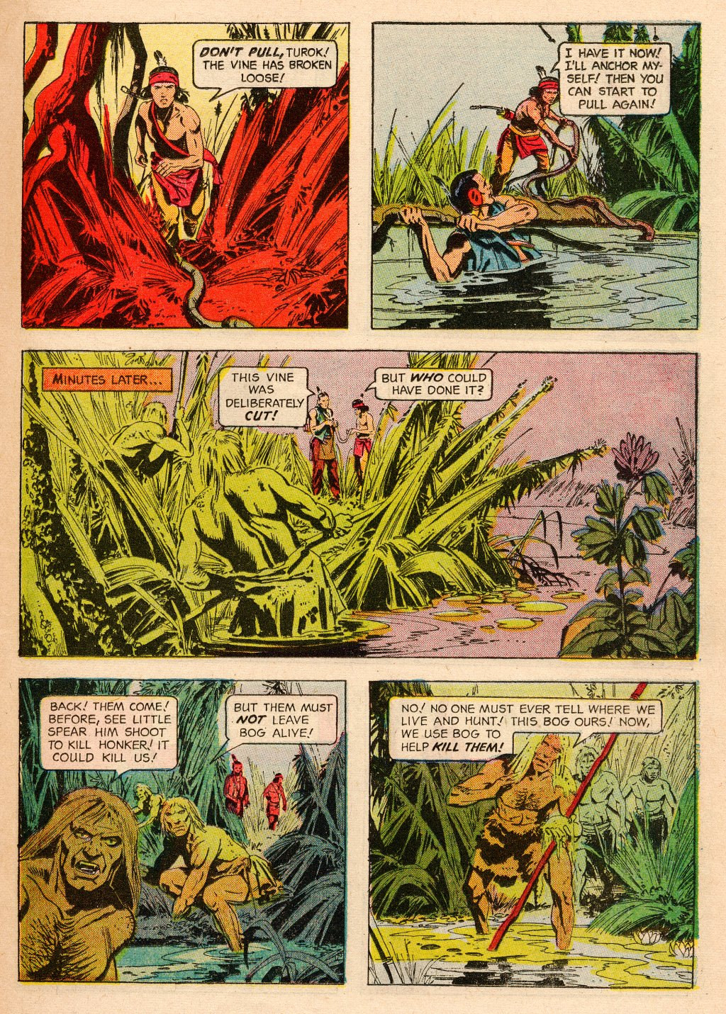 Read online Turok, Son of Stone comic -  Issue #33 - 11
