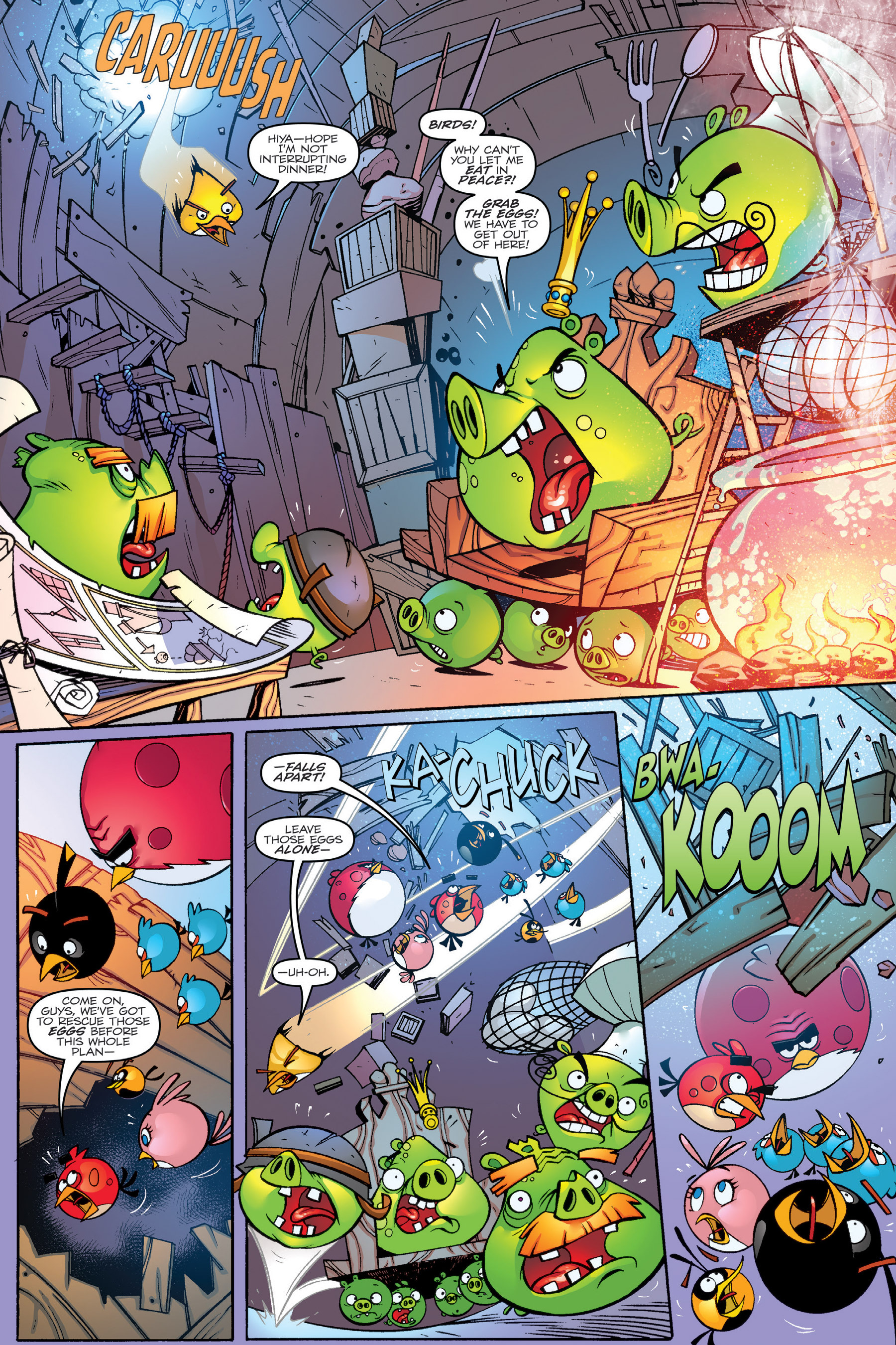 Read online Angry Birds Transformers: Age of Eggstinction comic -  Issue # Full - 12
