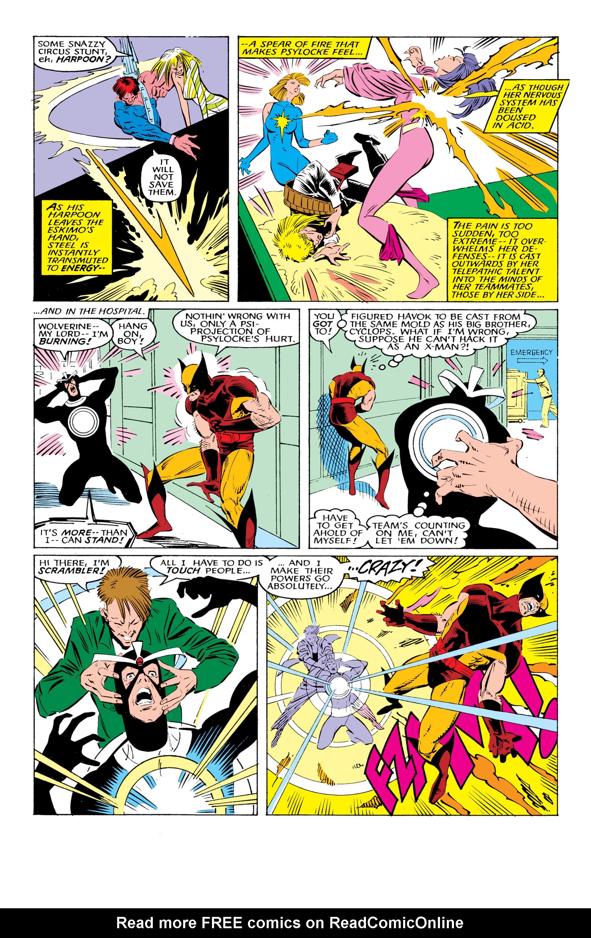 Read online Uncanny X-Men (1963) comic -  Issue #221 - 15