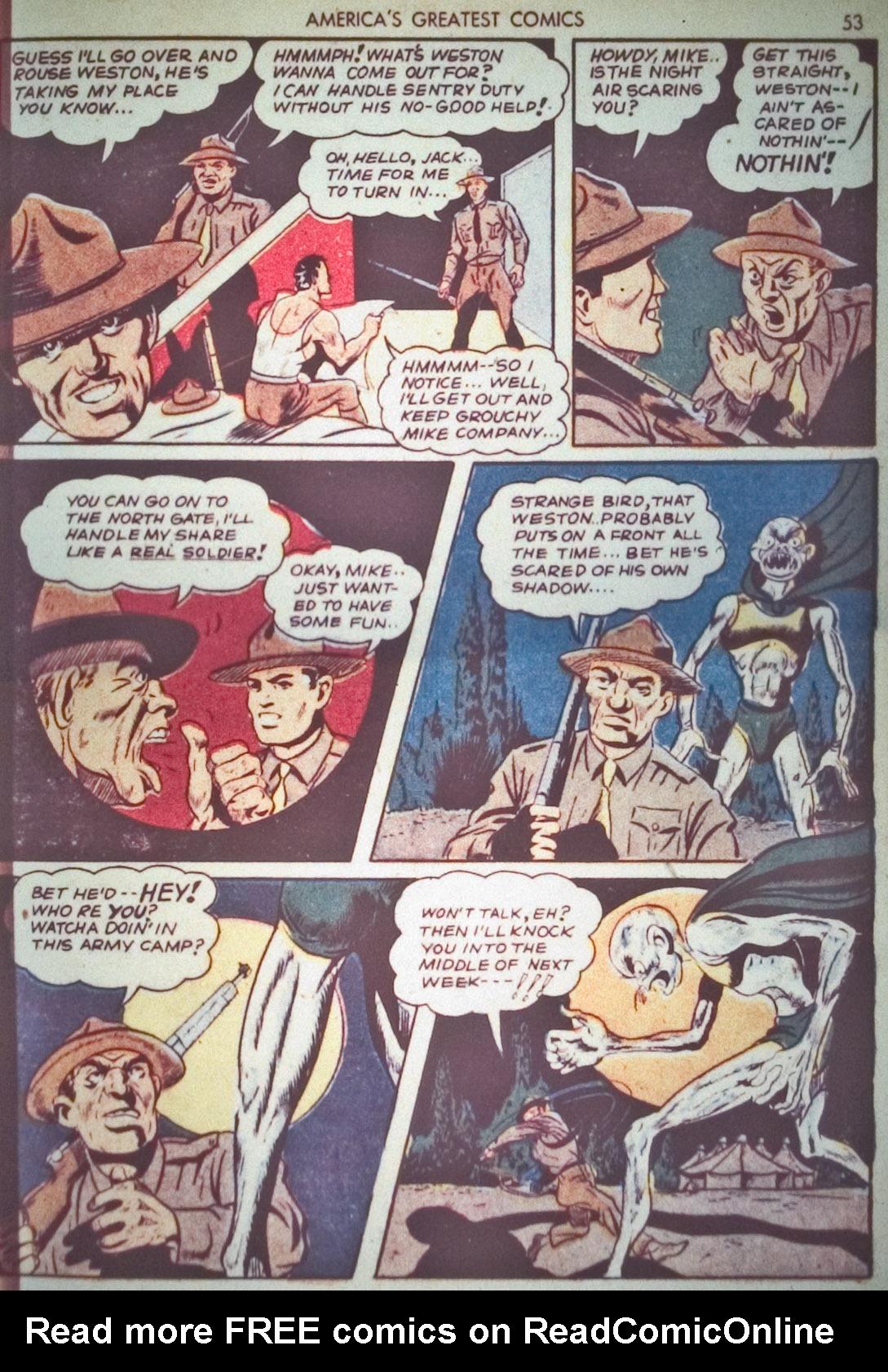 Read online America's Greatest Comics comic -  Issue #1 - 56