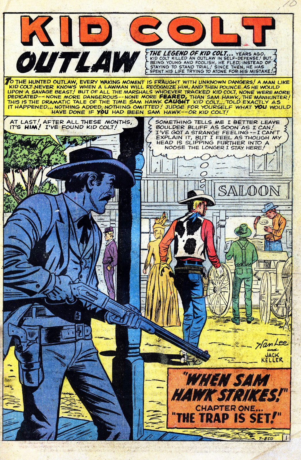 Gunsmoke Western issue 60 - Page 3