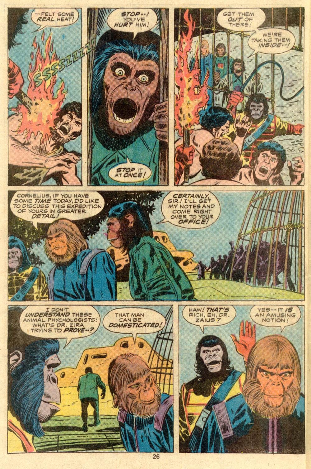 Read online Adventures on the Planet of the Apes comic -  Issue #2 - 18