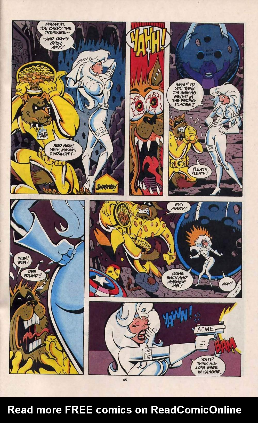 Read online Silver Sable and the Wild Pack comic -  Issue #25 - 38
