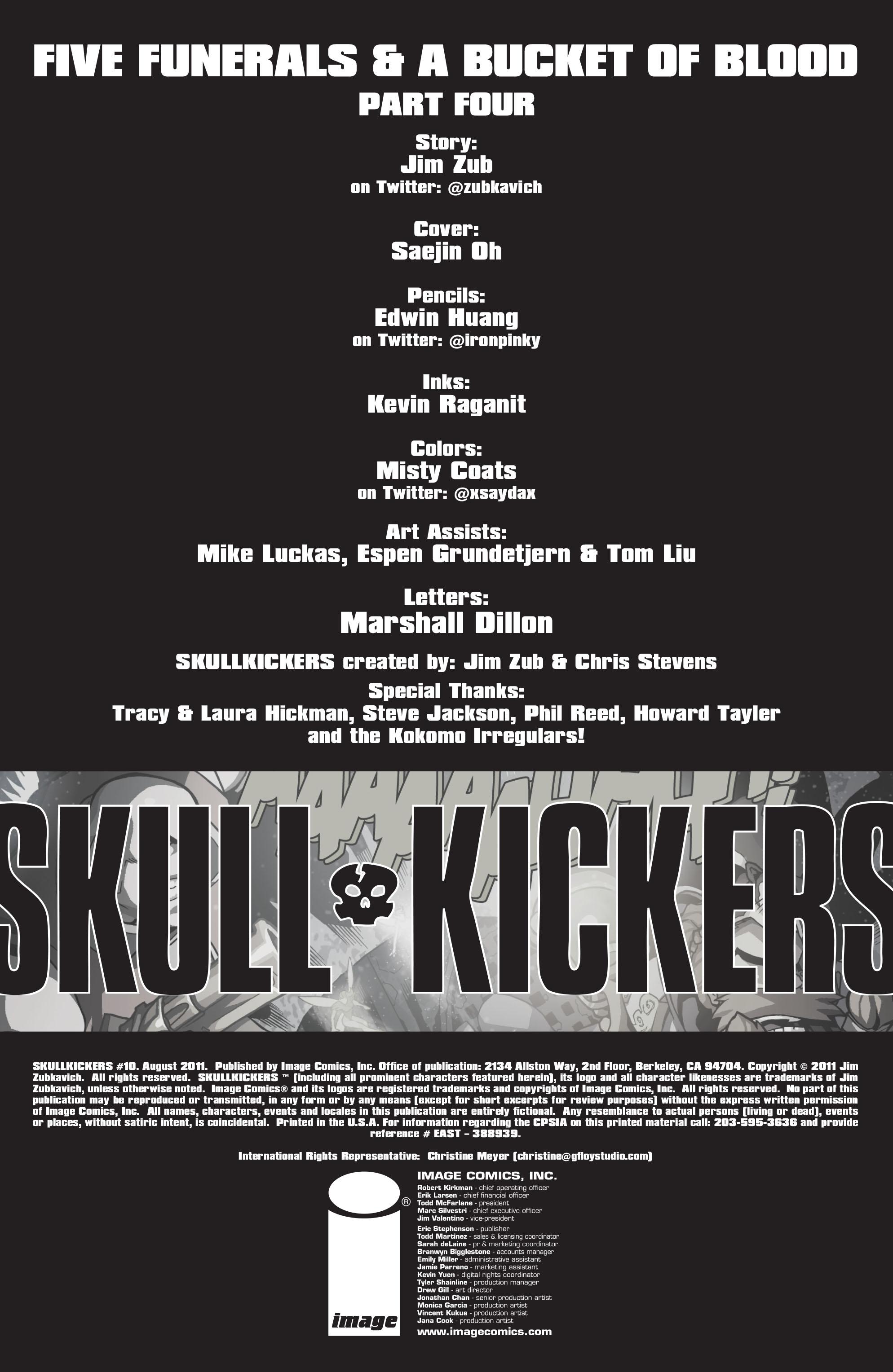 Read online Skullkickers comic -  Issue #10 - 2