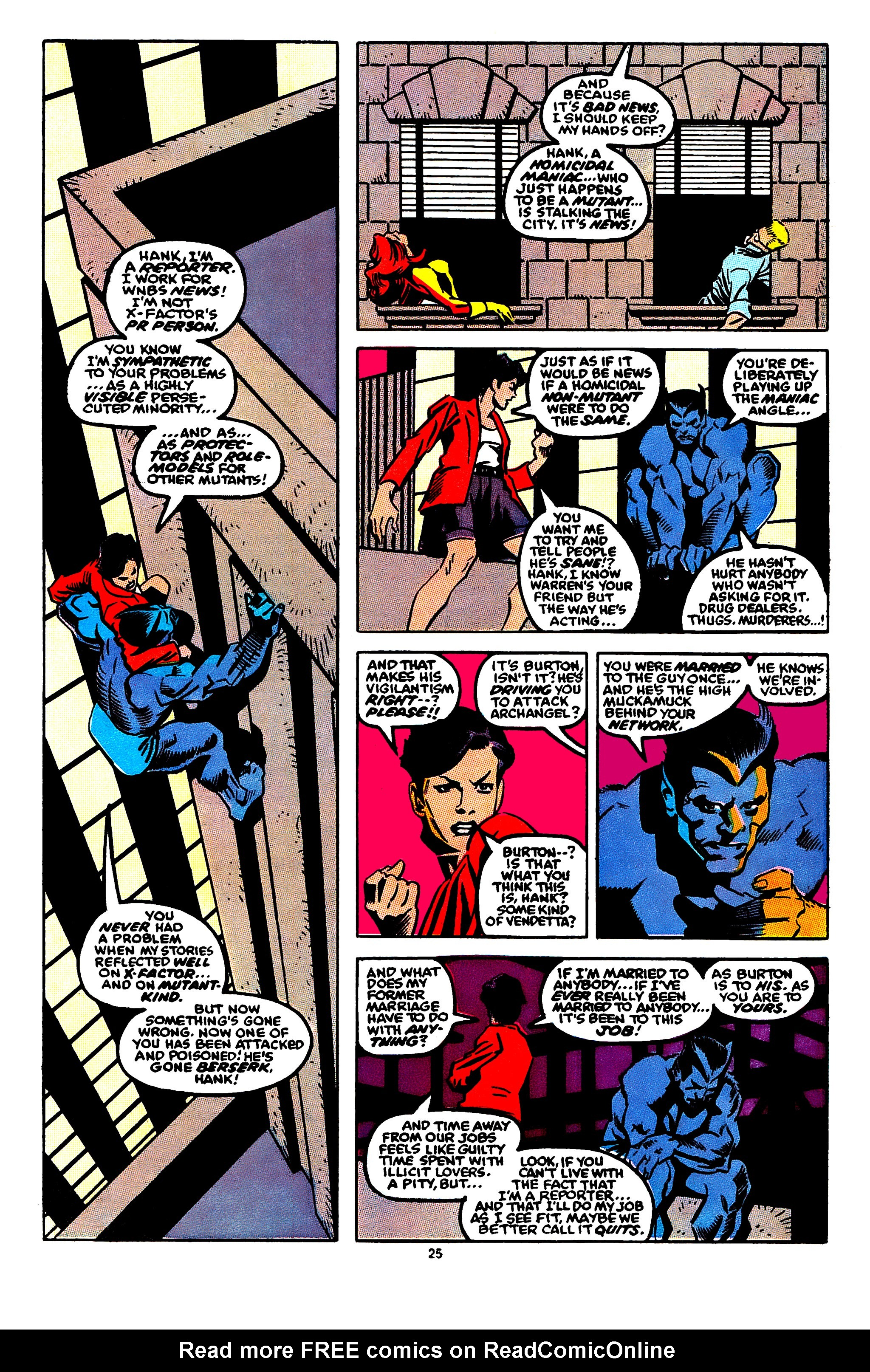 Read online X-Factor (1986) comic -  Issue #56 - 20