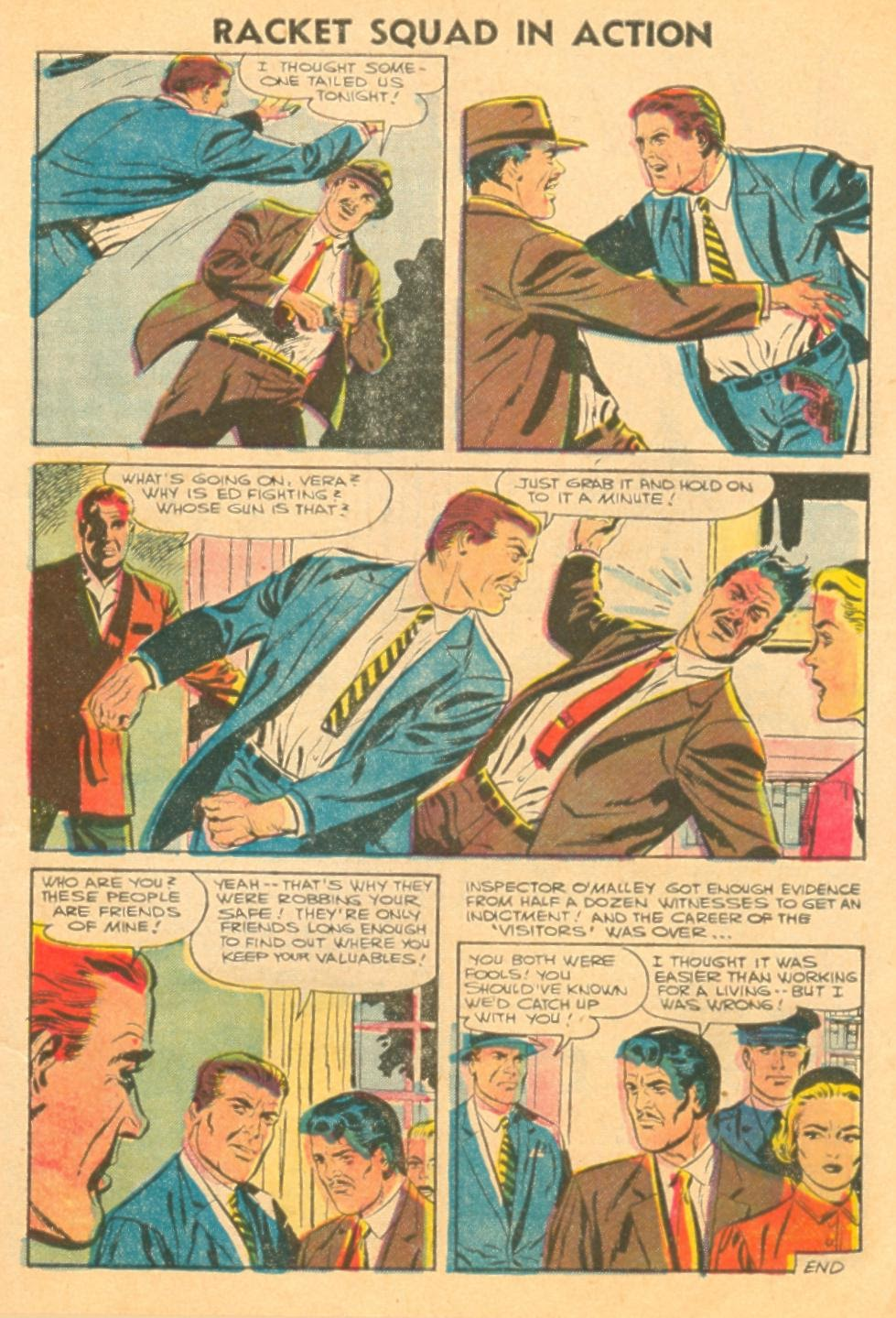 Read online Racket Squad in Action comic -  Issue #23 - 7