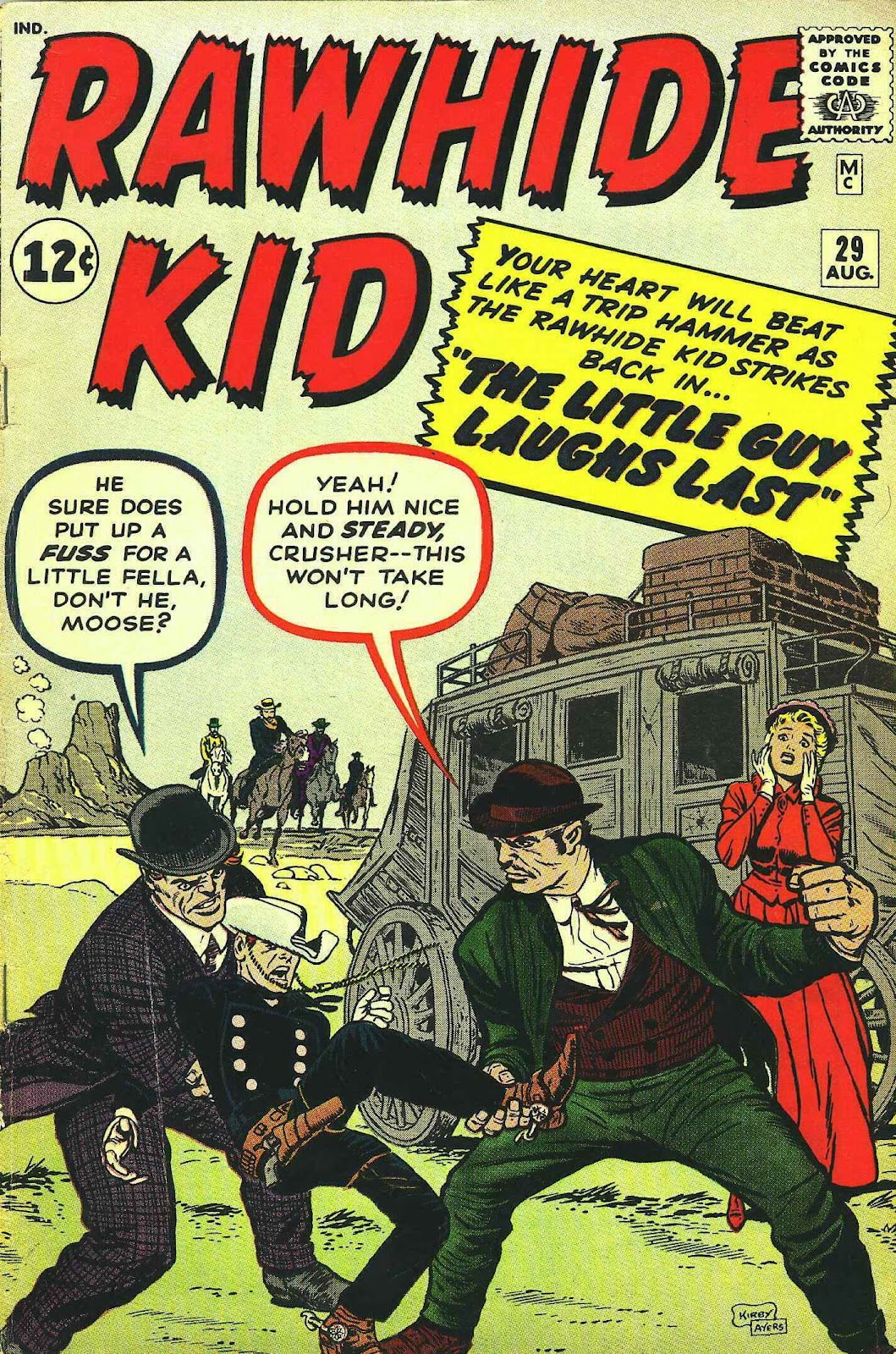 The Rawhide Kid (1955) issue 29 - Page 1