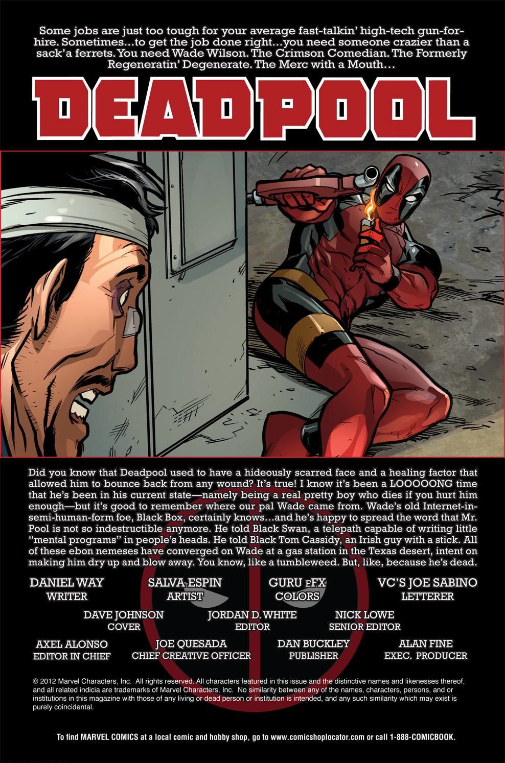 Read online Deadpool (2008) comic -  Issue #60 - 2