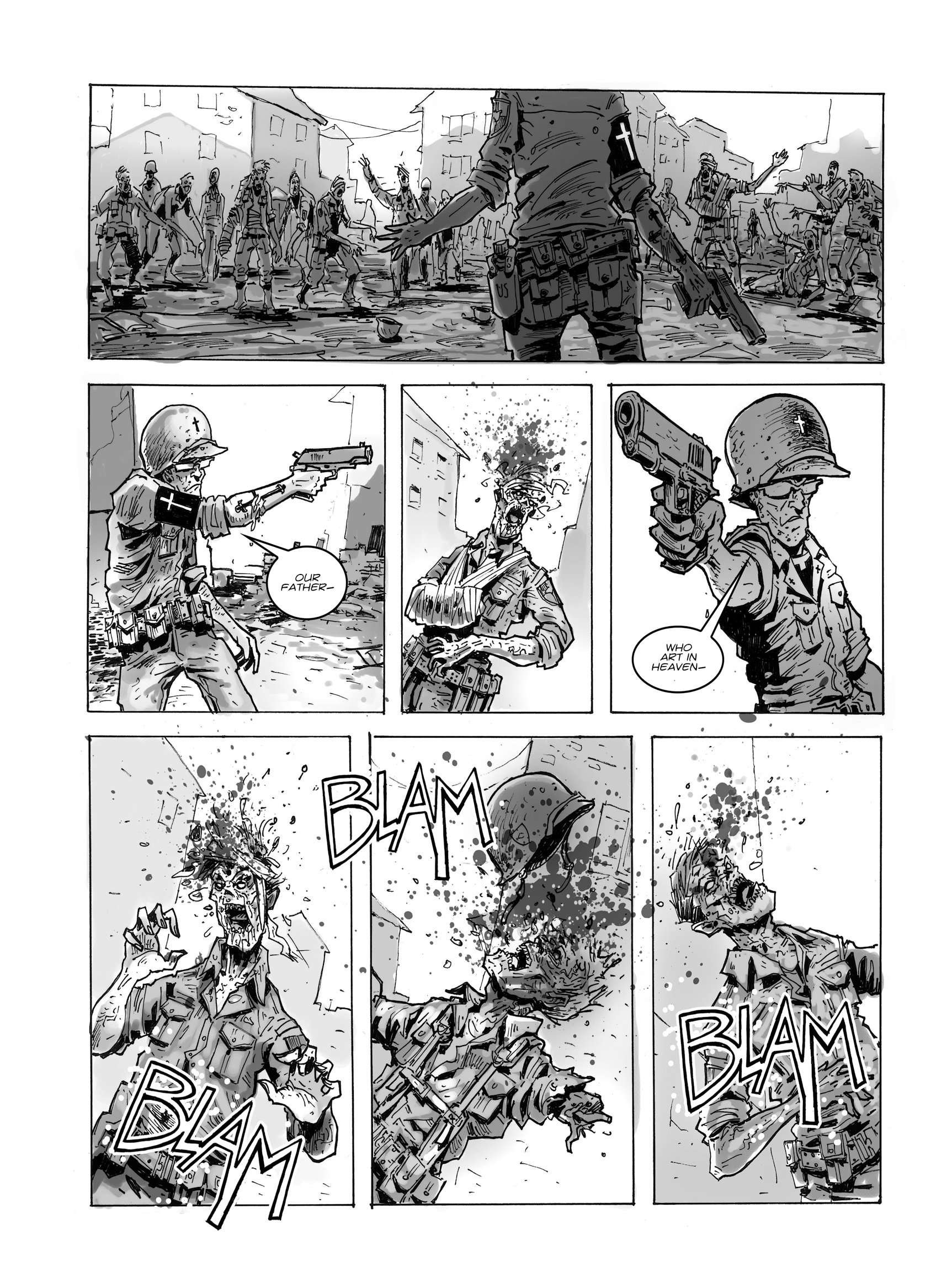 Read online FUBAR comic -  Issue #1 - 30