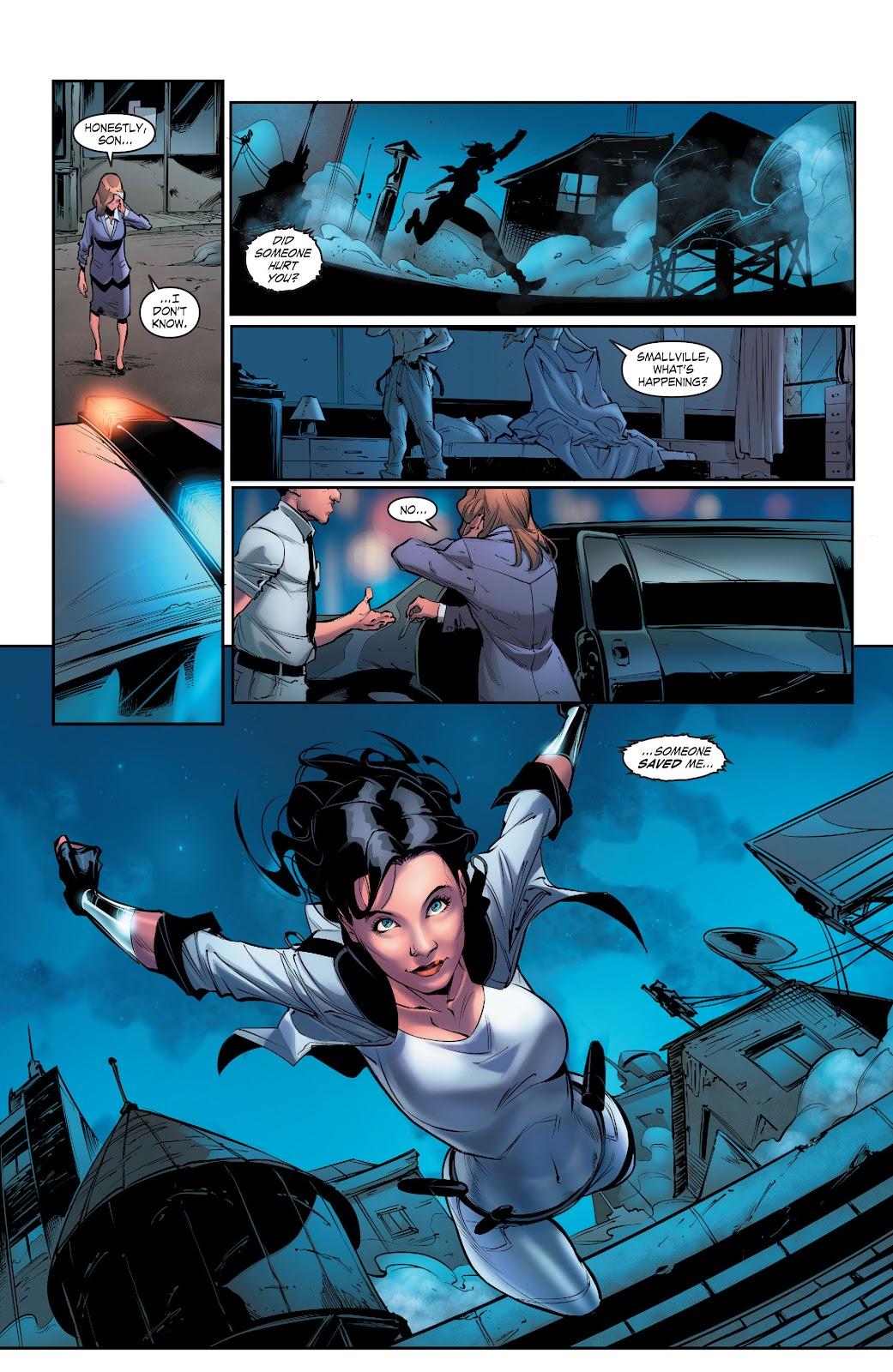 Read online Smallville Season 11 [II] comic -  Issue # TPB 5 - 16