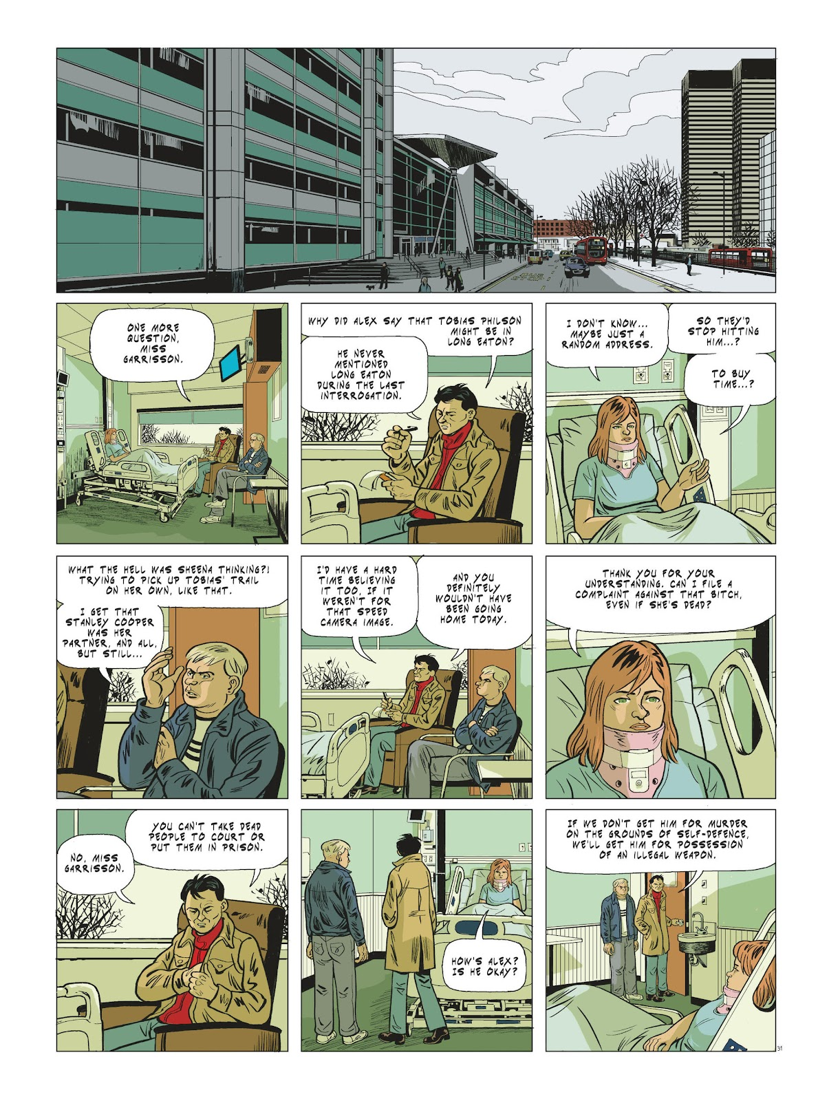 Read online Maggy Garrisson comic -  Issue #3 - 33